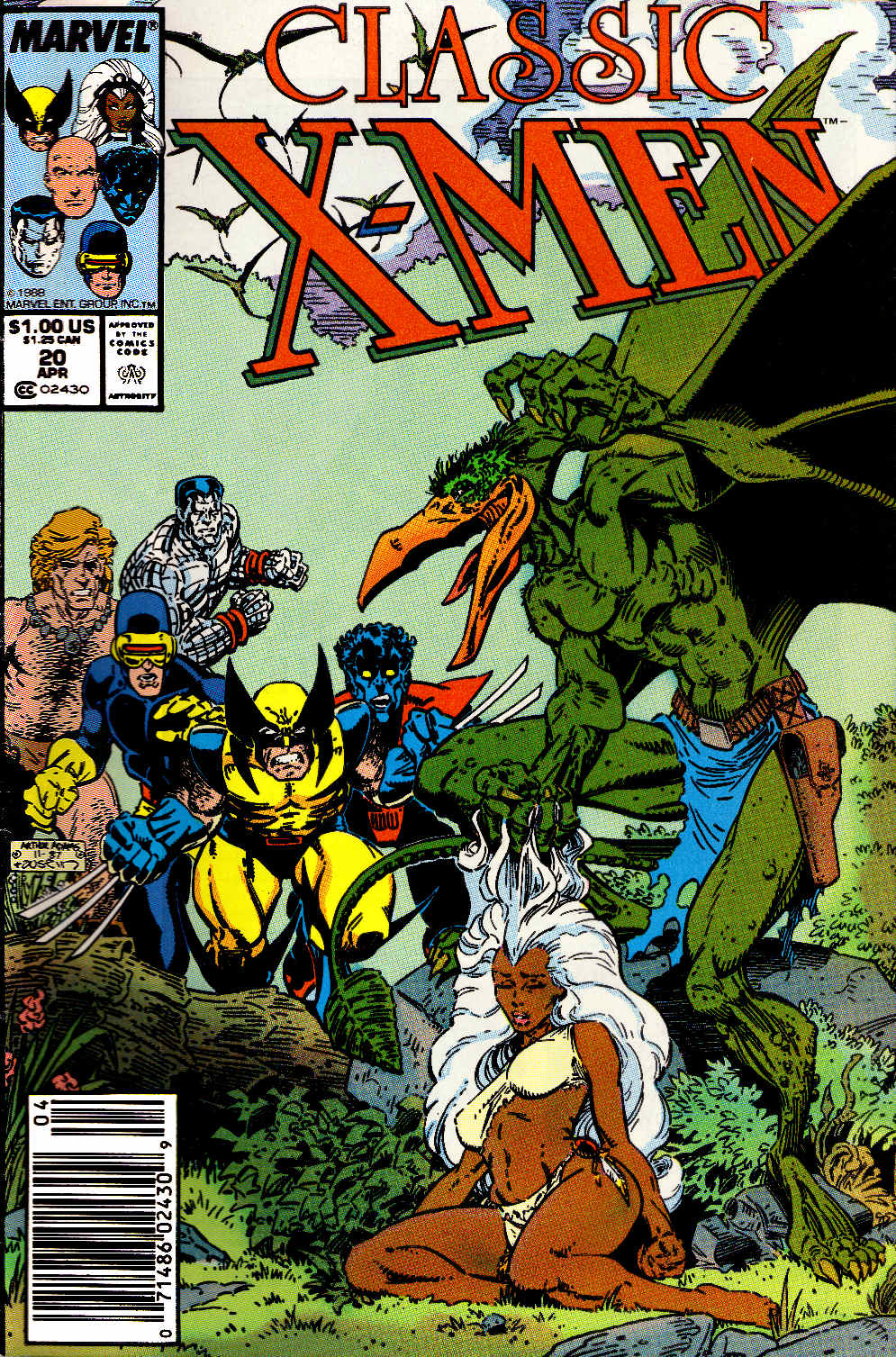 Classic X-Men issue 20 - Page 1