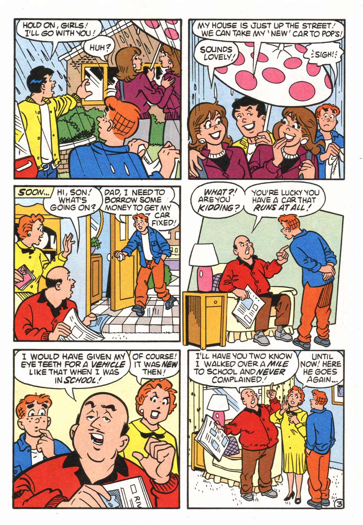 Read online Archie (1960) comic -  Issue #522 - 4