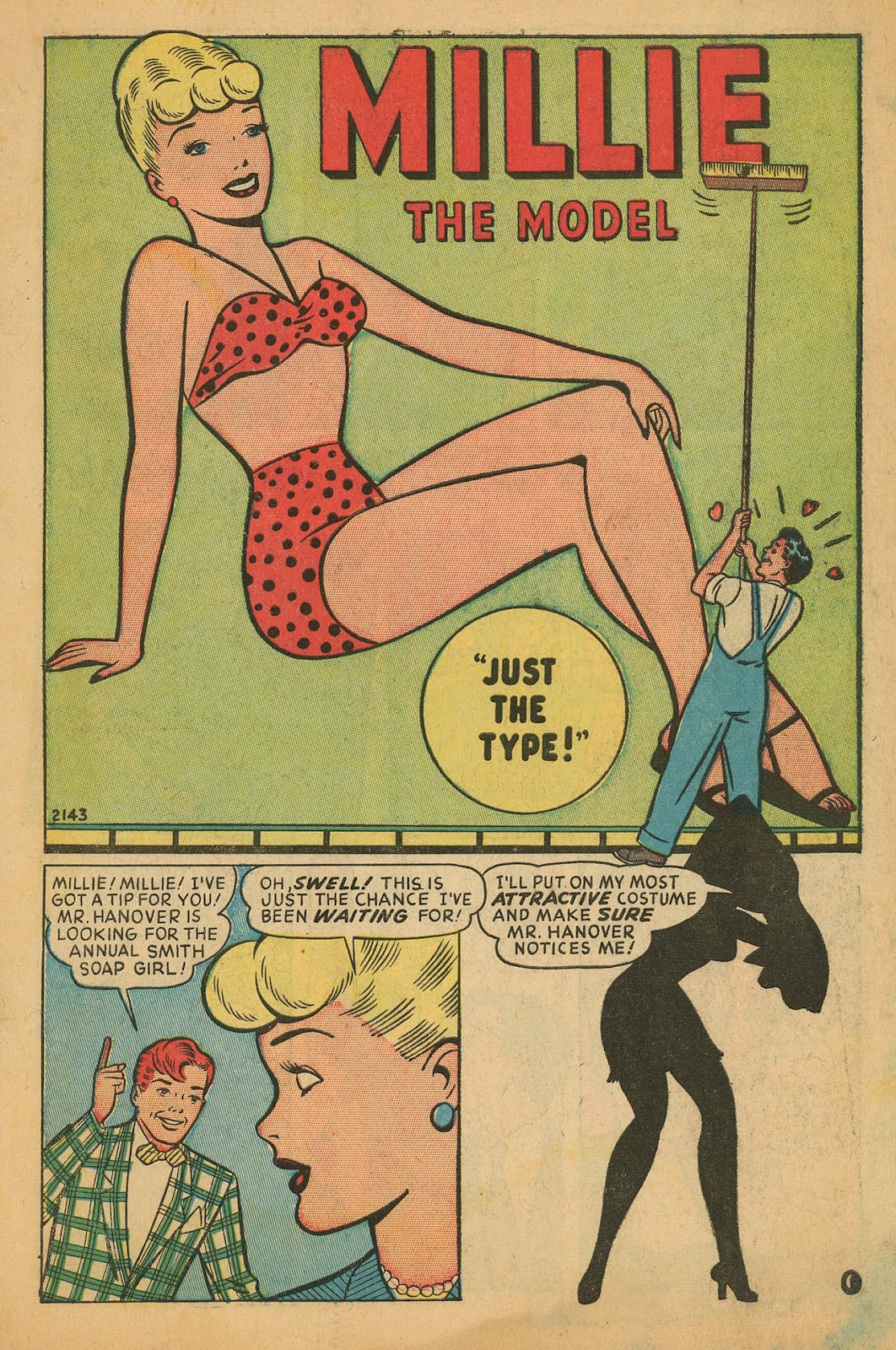Read online Millie the Model comic -  Issue #11 - 3