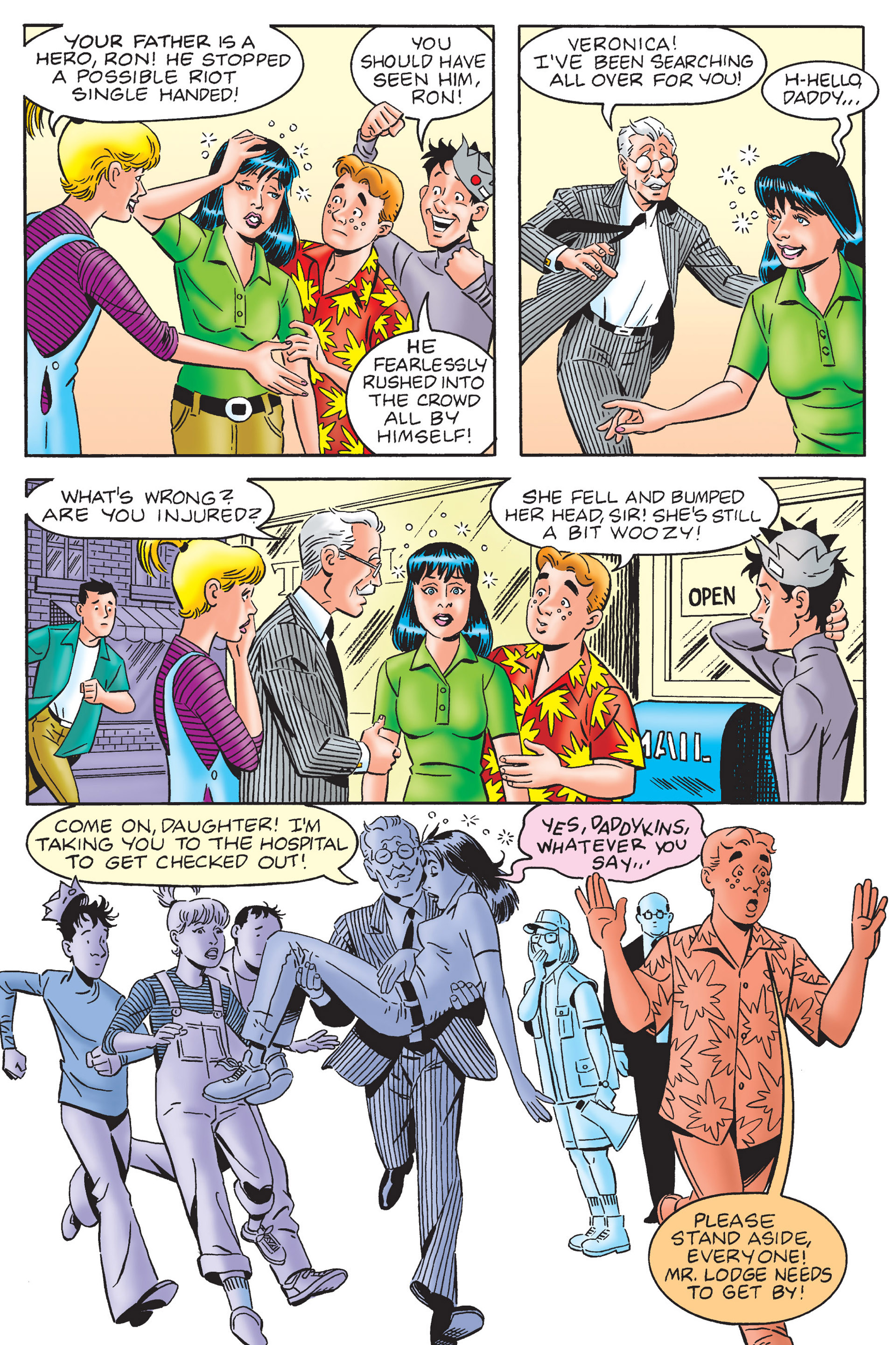 Read online Archie's New Look Series comic -  Issue #4 - 96