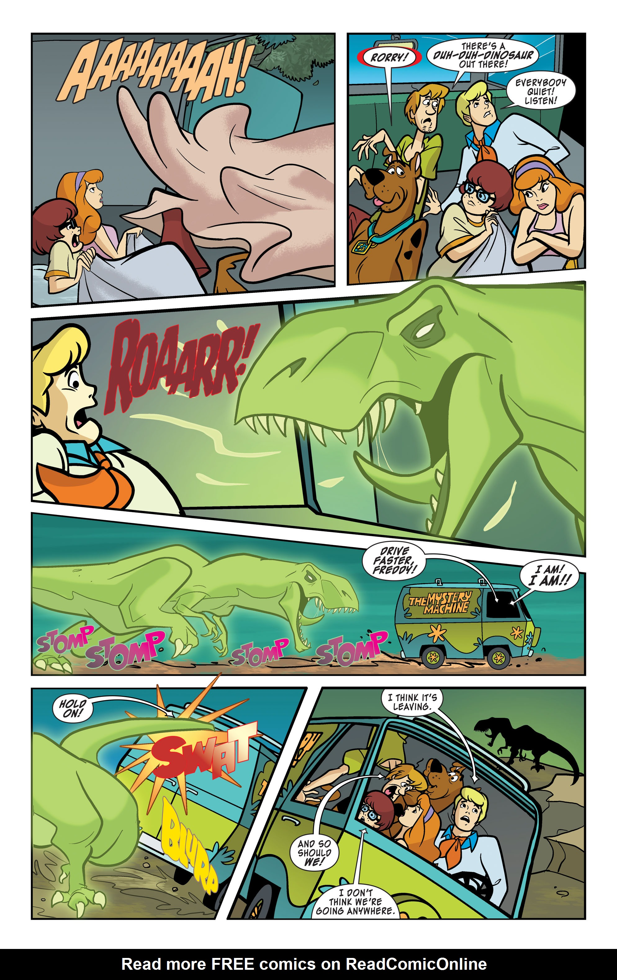 Read online Scooby-Doo: Where Are You? comic -  Issue #63 - 5