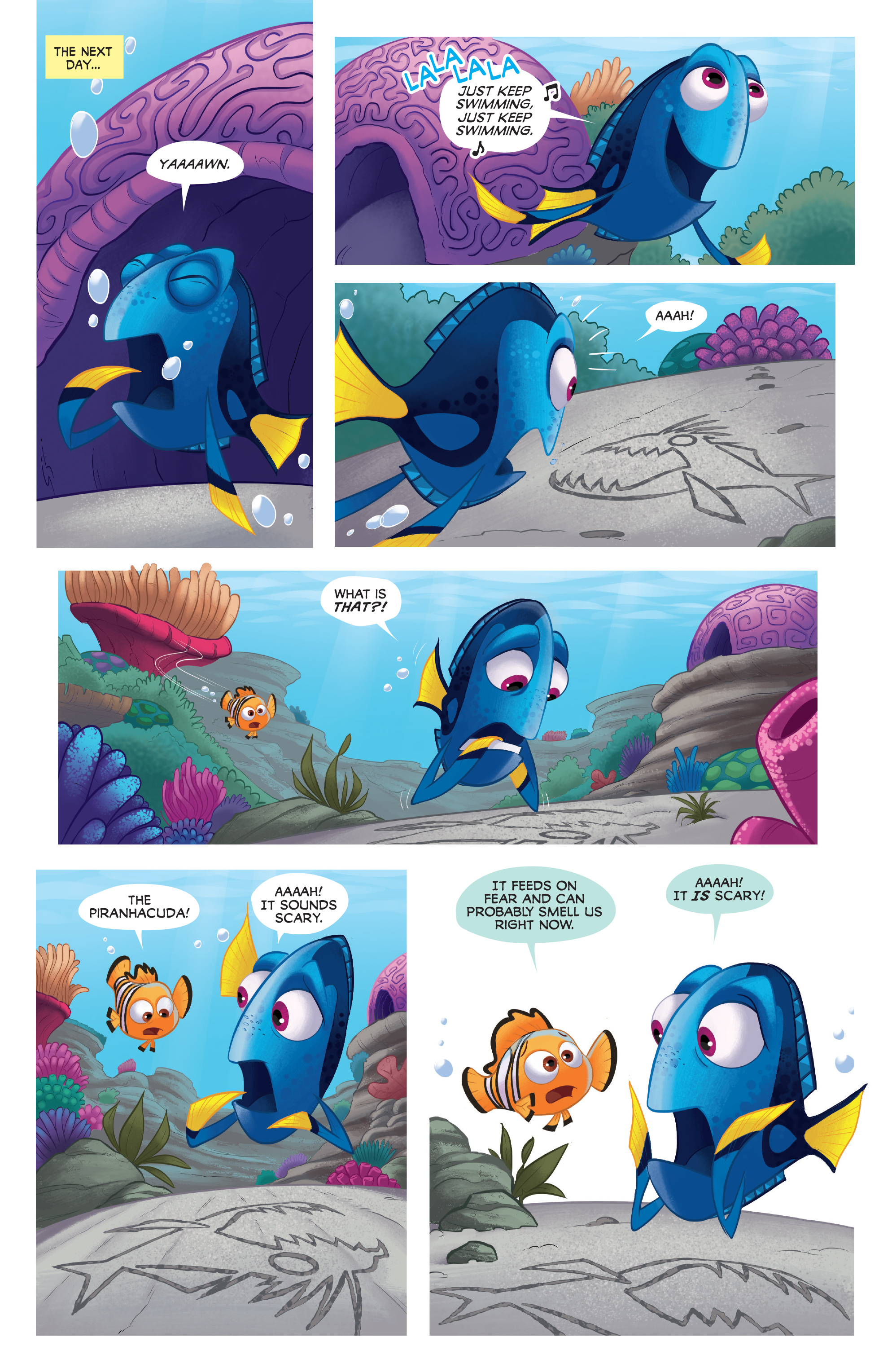Read online Disney Pixar Finding Dory comic -  Issue #4 - 13