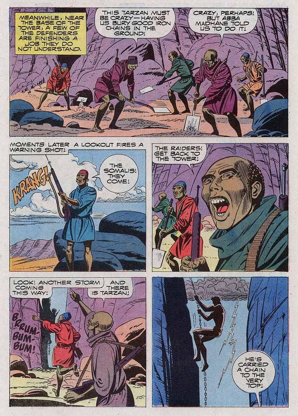 Tarzan (1962) issue 204 - Page 22