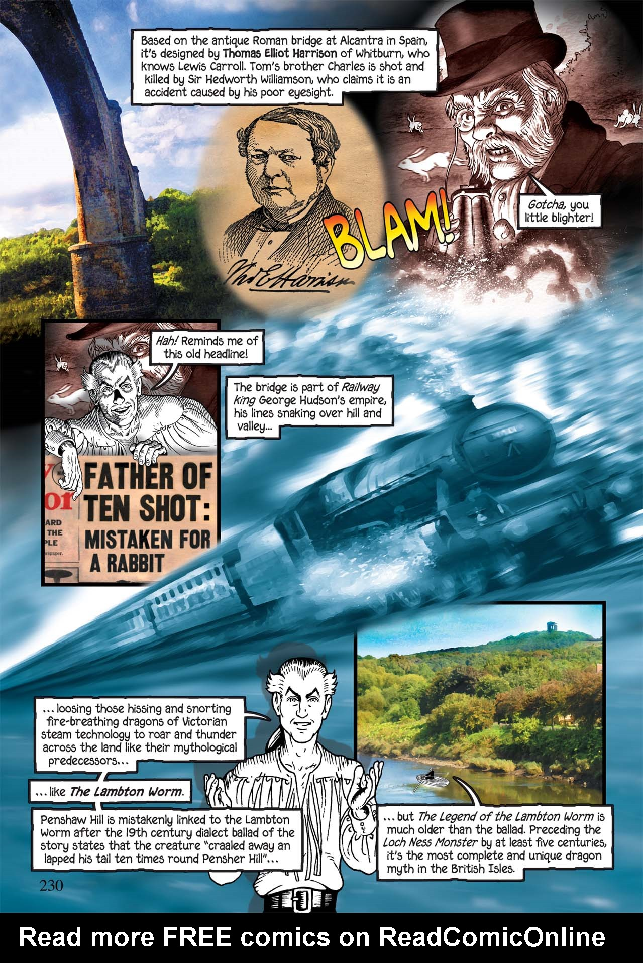 Read online Alice in Sunderland comic -  Issue # Full - 234