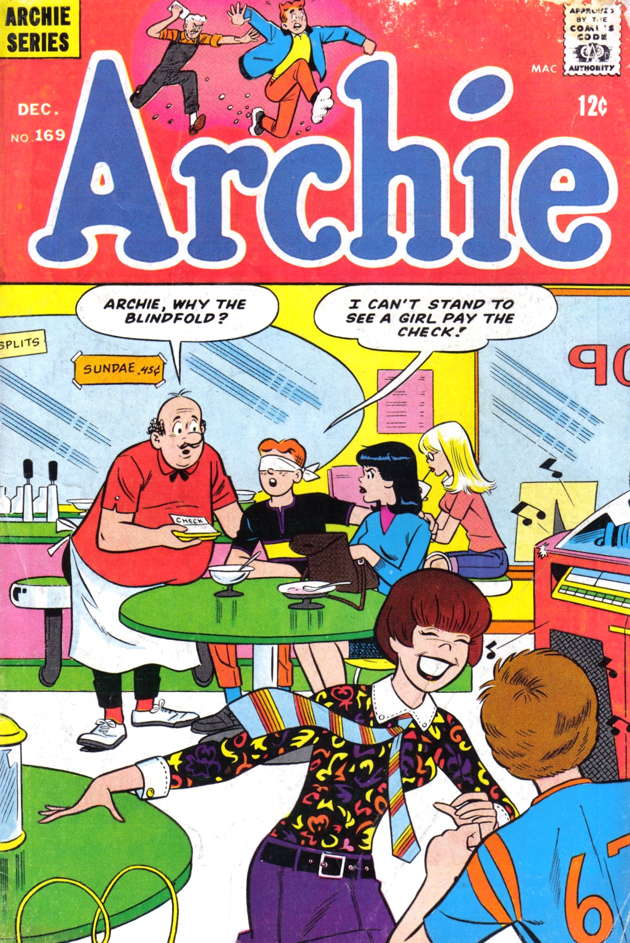 Read online Archie (1960) comic -  Issue #169 - 1