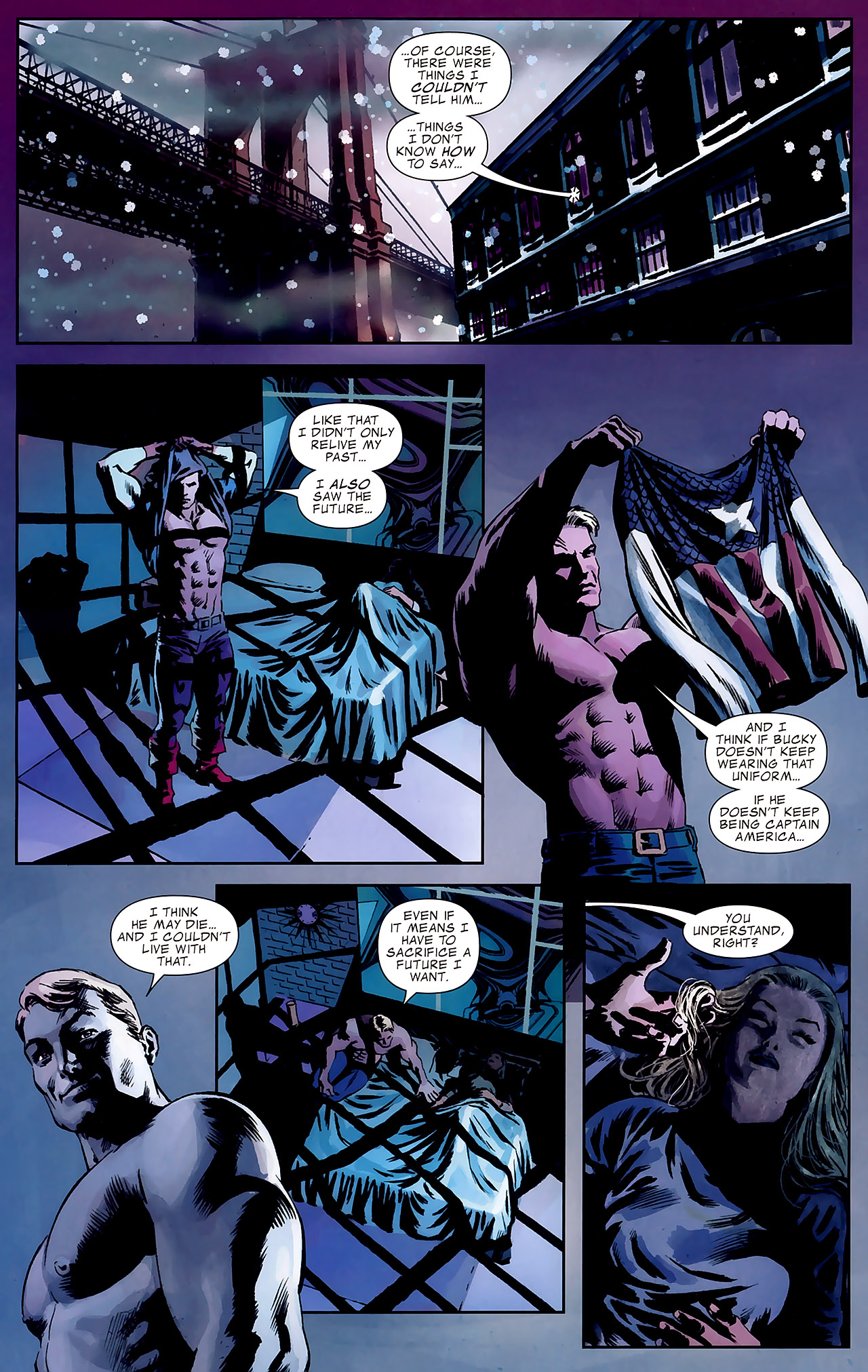 Read online Captain America Reborn: Who Will Wield the Shield? comic -  Issue # Full - 24