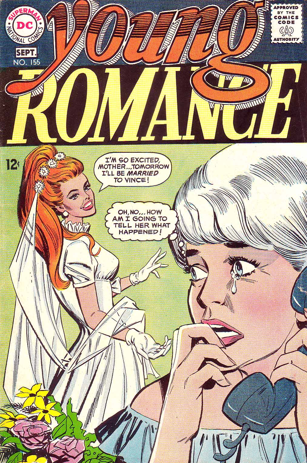 Young Romance issue 155 - Page 1