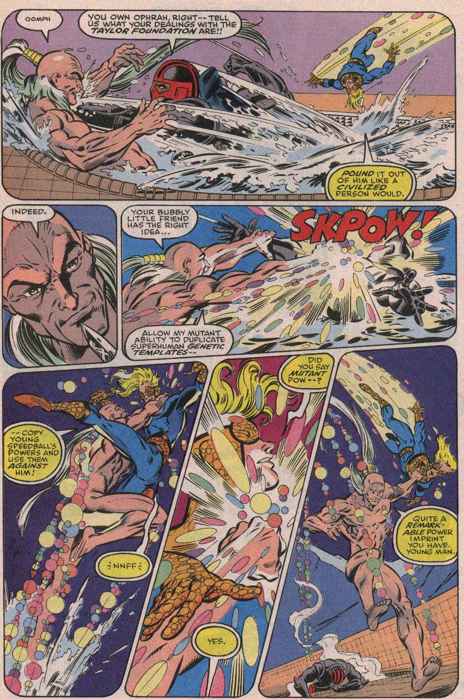 The New Warriors Issue #19 #23 - English 14