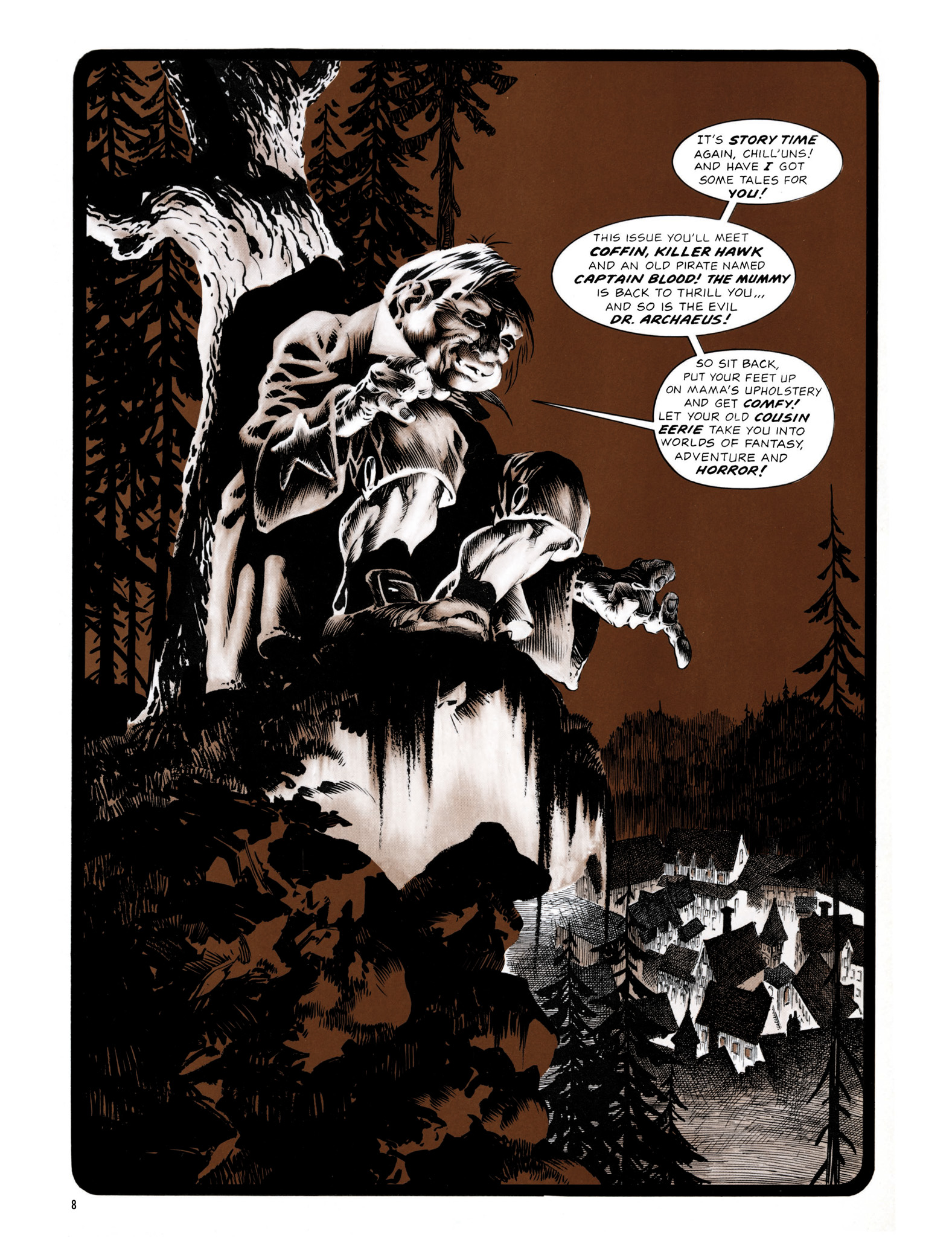Read online Eerie Archives comic -  Issue # TPB 13 - 9