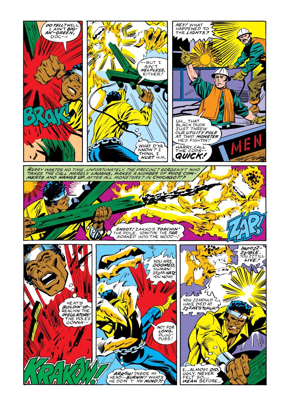 Read online Marvel Masterworks: Luke Cage, Power Man comic -  Issue # TPB 3 (Part 3) - 110