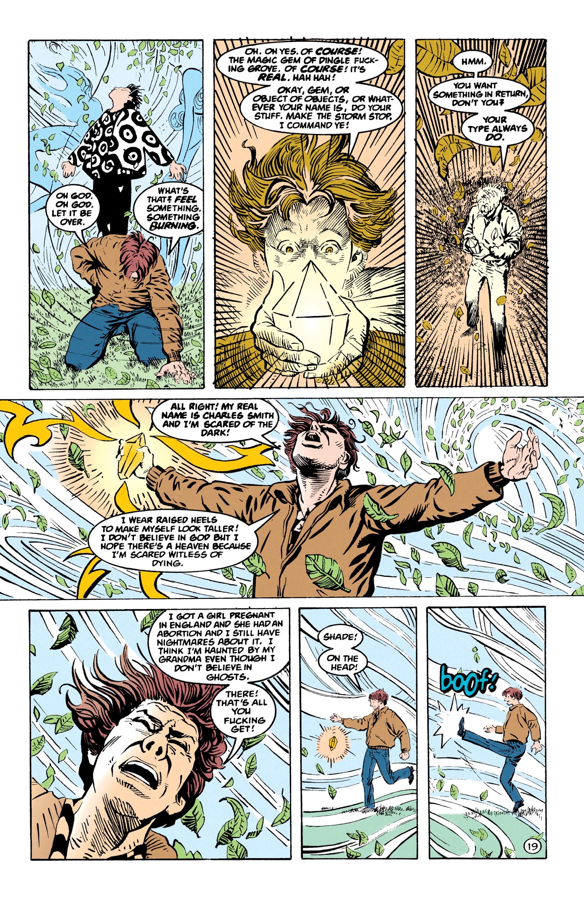 Read online Shade, the Changing Man comic -  Issue #67 - 20