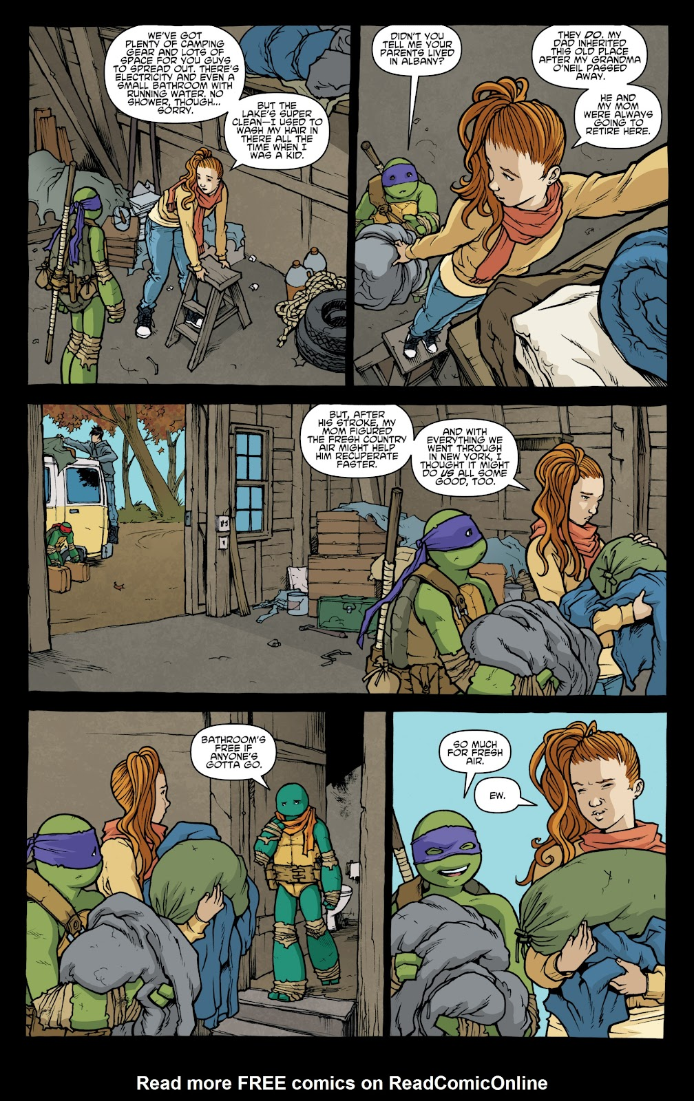 Read online Teenage Mutant Ninja Turtles: The IDW Collection comic -  Issue # TPB 4 (Part 1) - 12