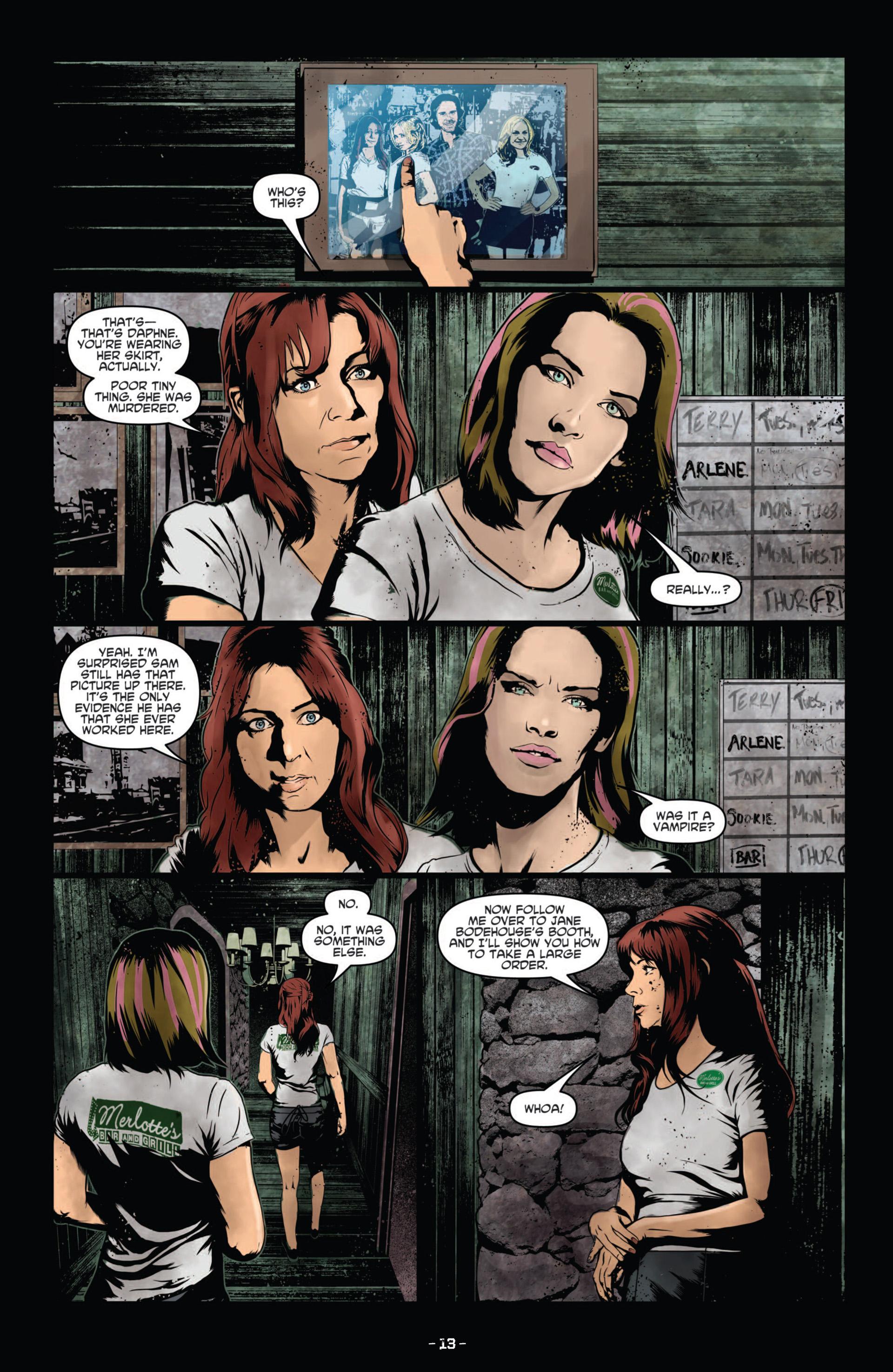 Read online True Blood (2012) comic -  Issue #11 - 16
