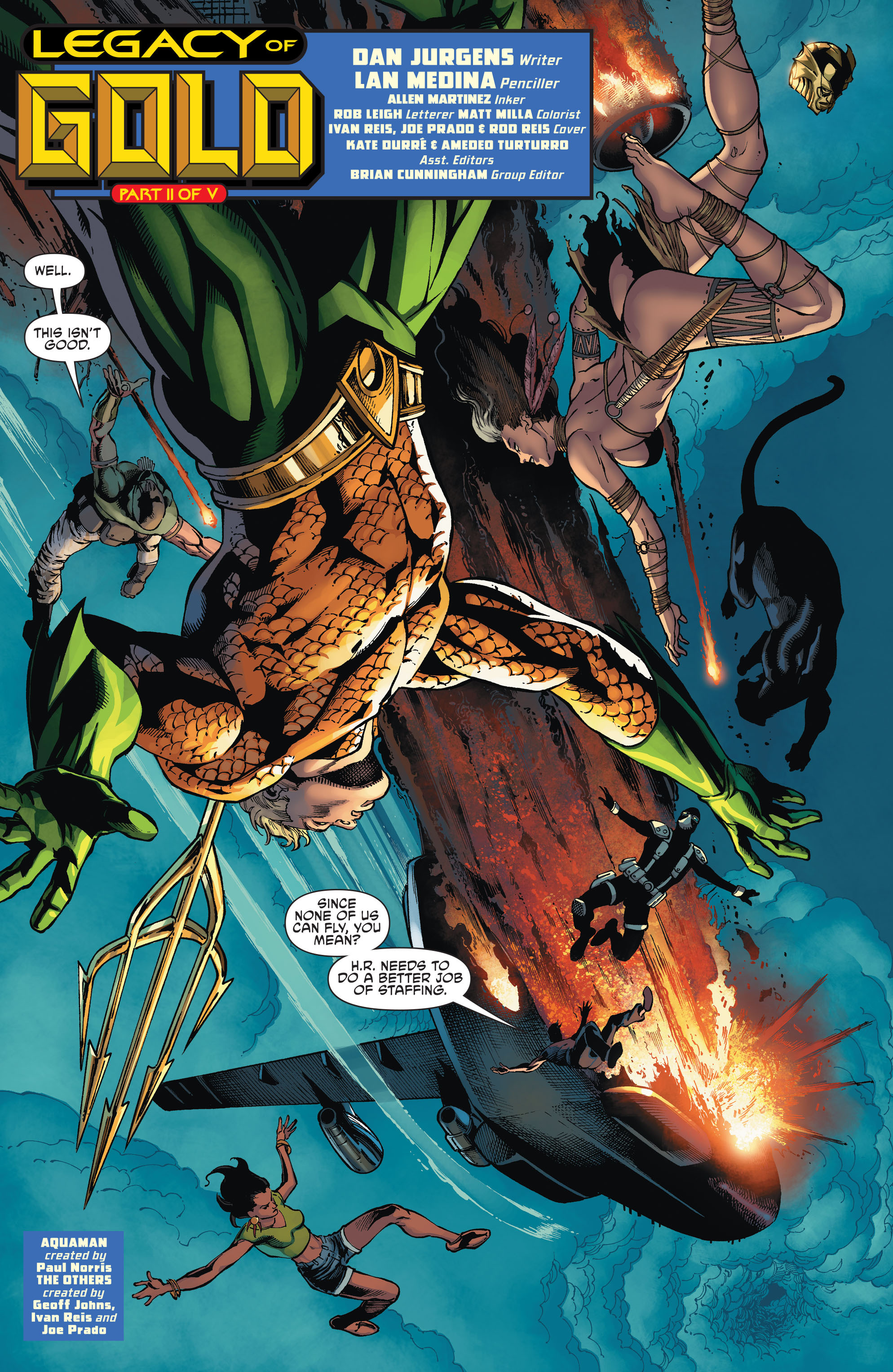 Read online Aquaman and the Others comic -  Issue #2 - 3