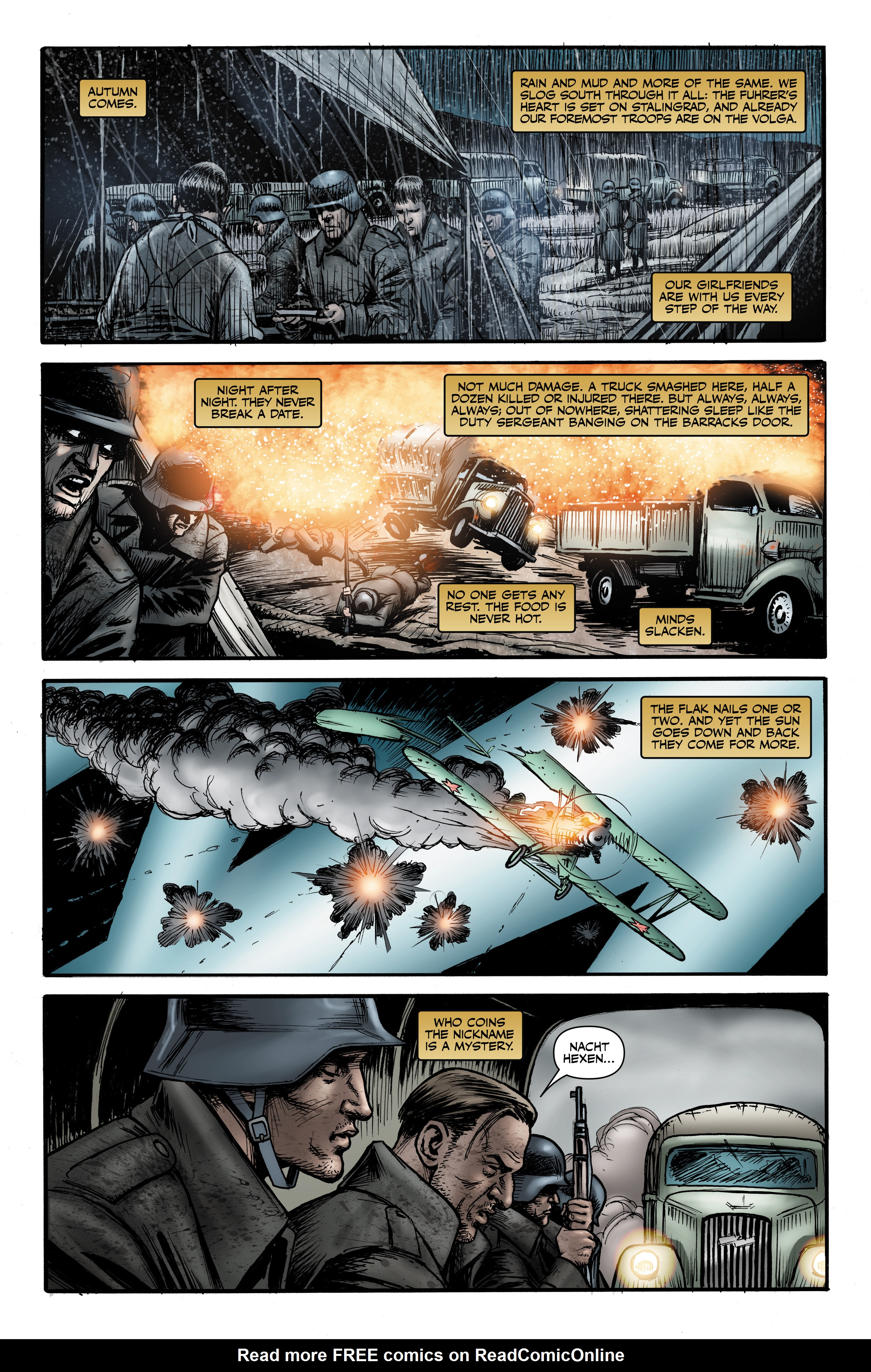 Read online Battlefields: Night Witches comic -  Issue # TPB - 34