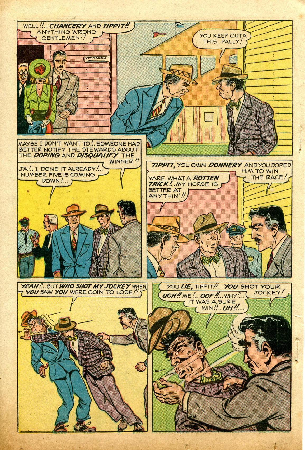 Read online Shadow Comics comic -  Issue #74 - 28