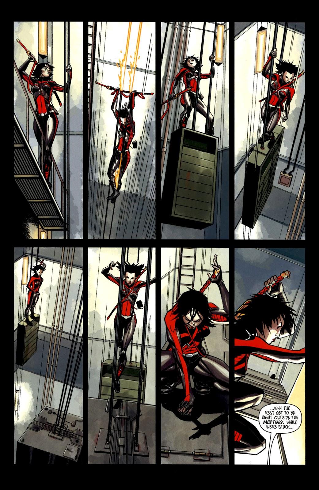 Read online Shinku comic -  Issue #2 - 11