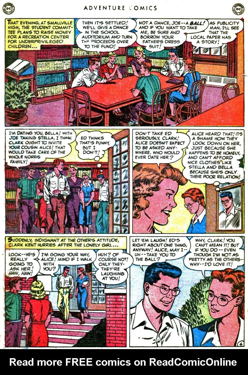 Read online Adventure Comics (1938) comic -  Issue #160 - 6