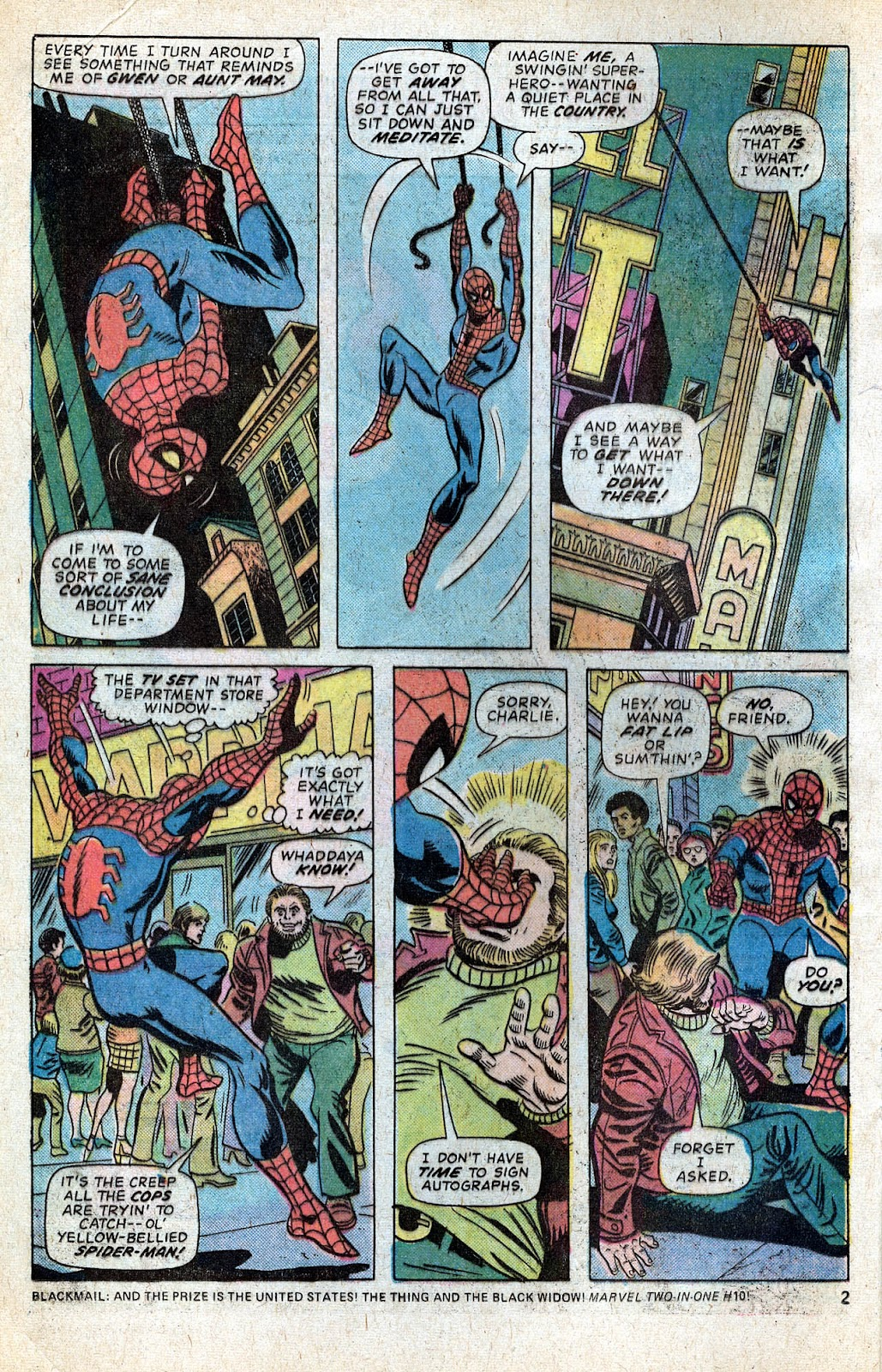 Giant-Size Spider-Man (1974) issue 5 - Page 4
