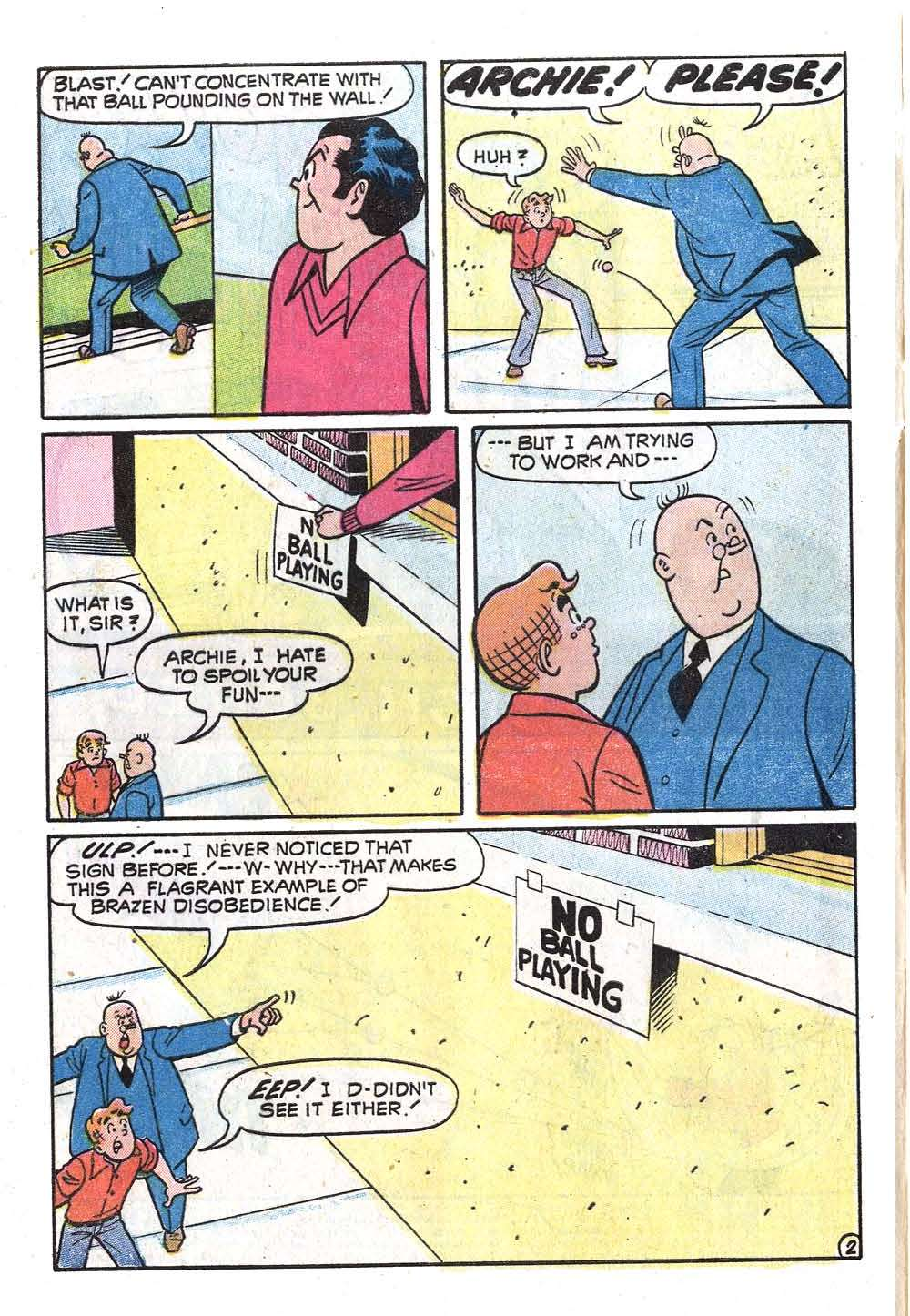 Read online Archie (1960) comic -  Issue #219 - 4