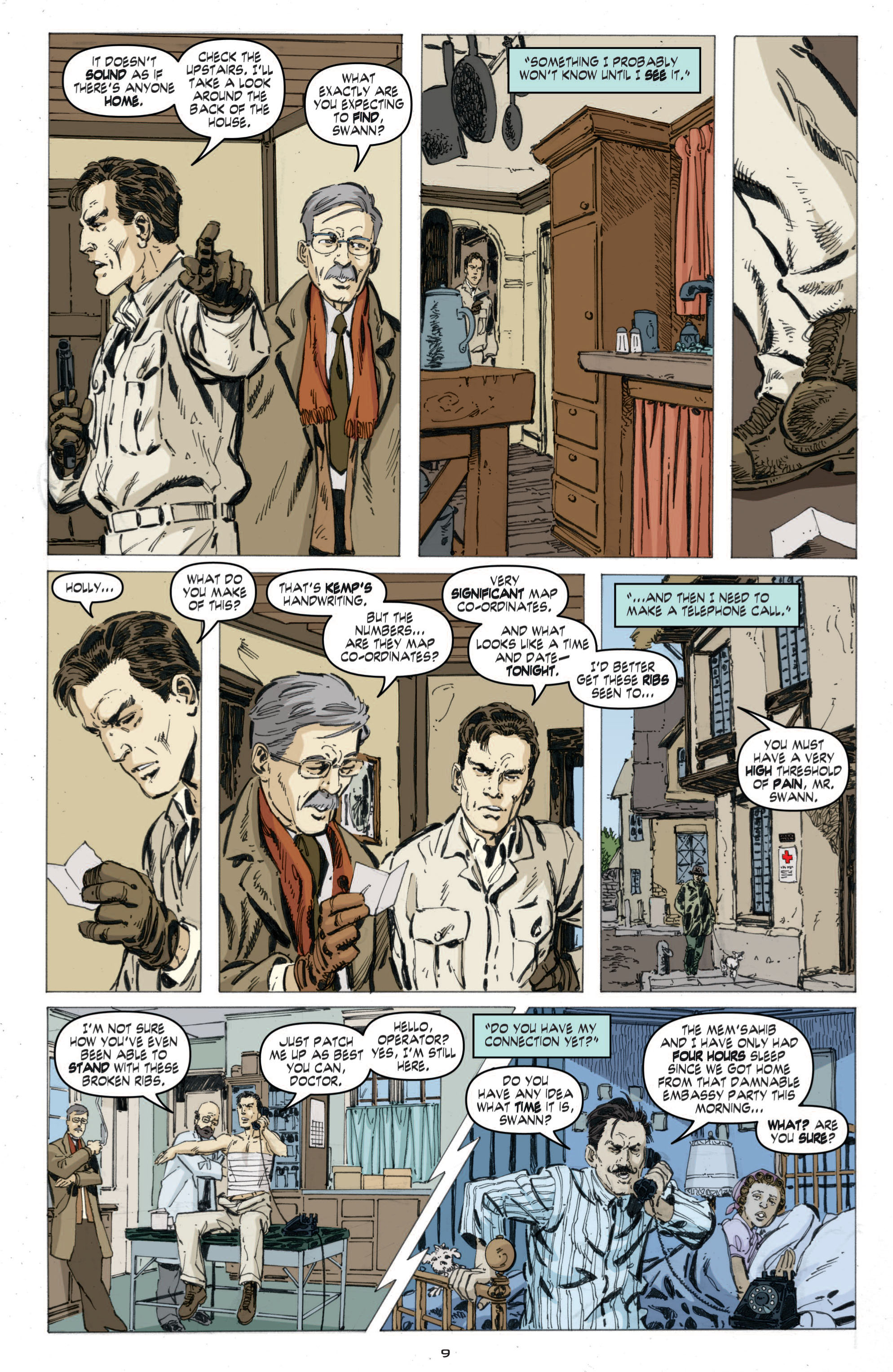 Read online Cold War comic -  Issue # TPB - 67