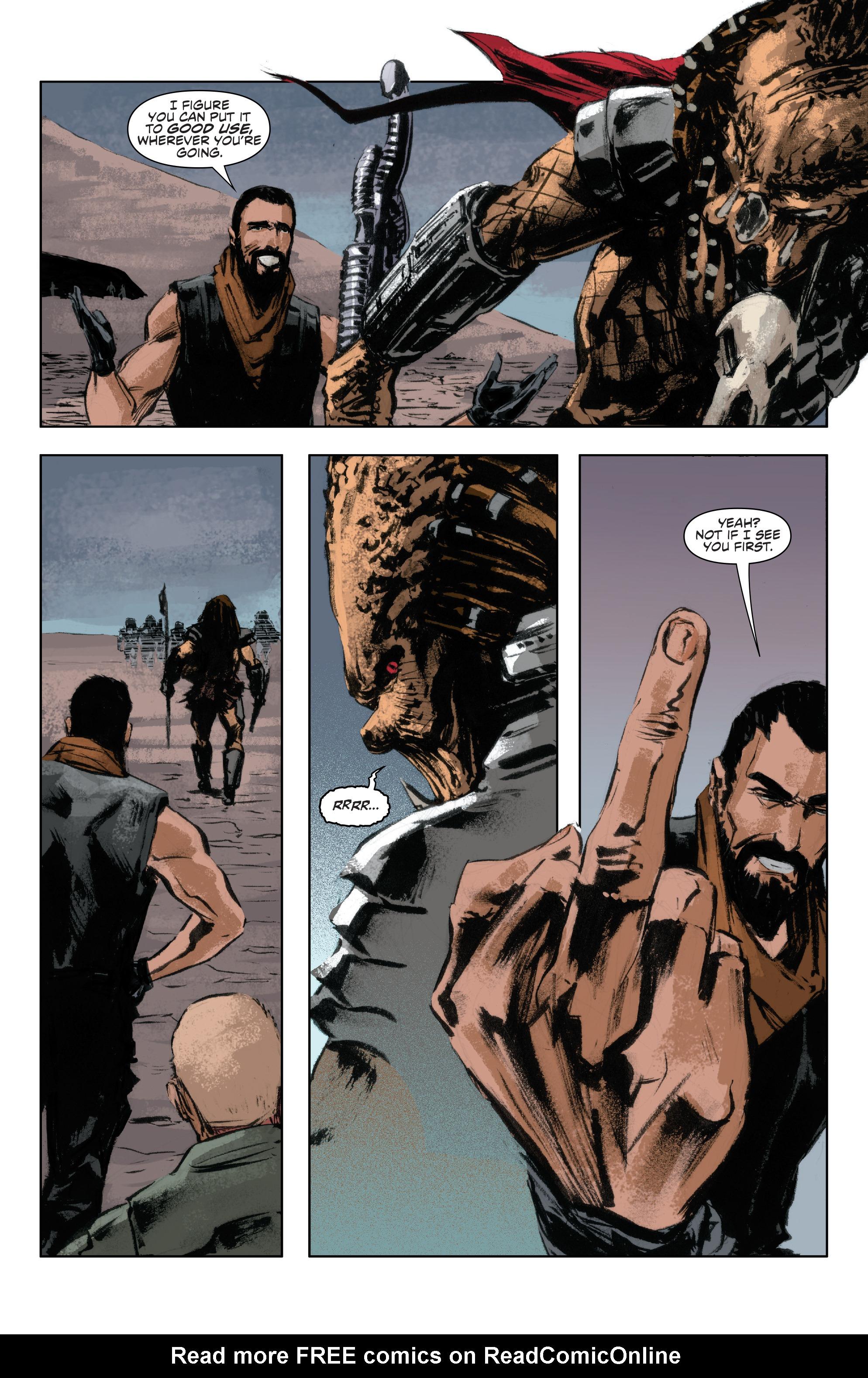 Read online Alien Vs. Predator: Life and Death comic -  Issue #4 - 20