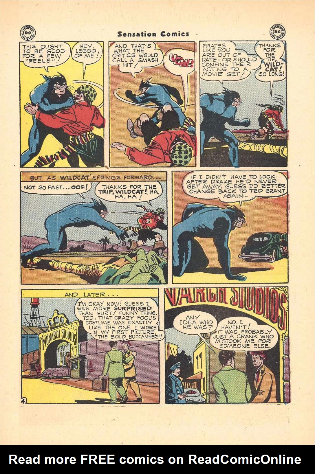 Read online Sensation (Mystery) Comics comic -  Issue #55 - 45