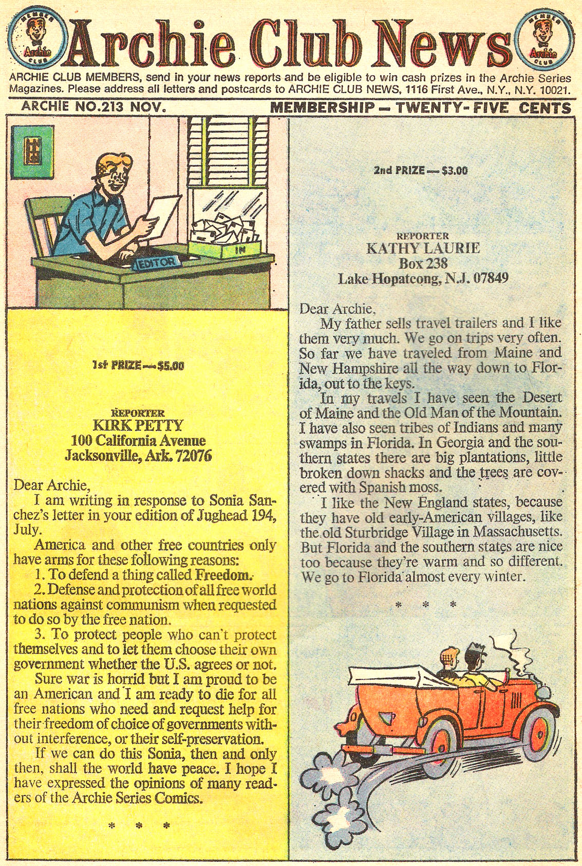 Read online Archie (1960) comic -  Issue #213 - 10