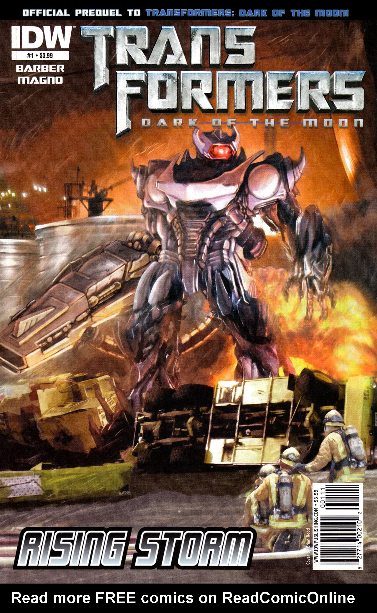 Read online Transformers: Dark of the Moon Rising Storm comic -  Issue #1 - 1