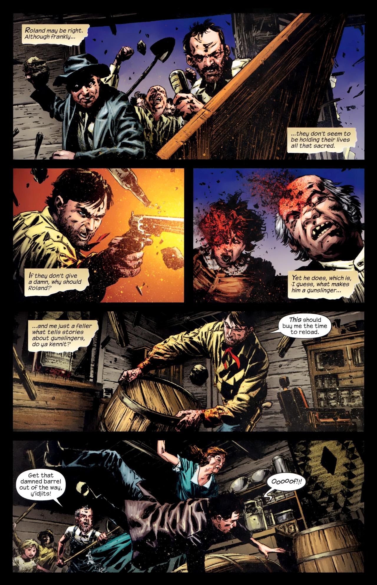 Read online Dark Tower: The Gunslinger - The Battle of Tull comic -  Issue #5 - 10