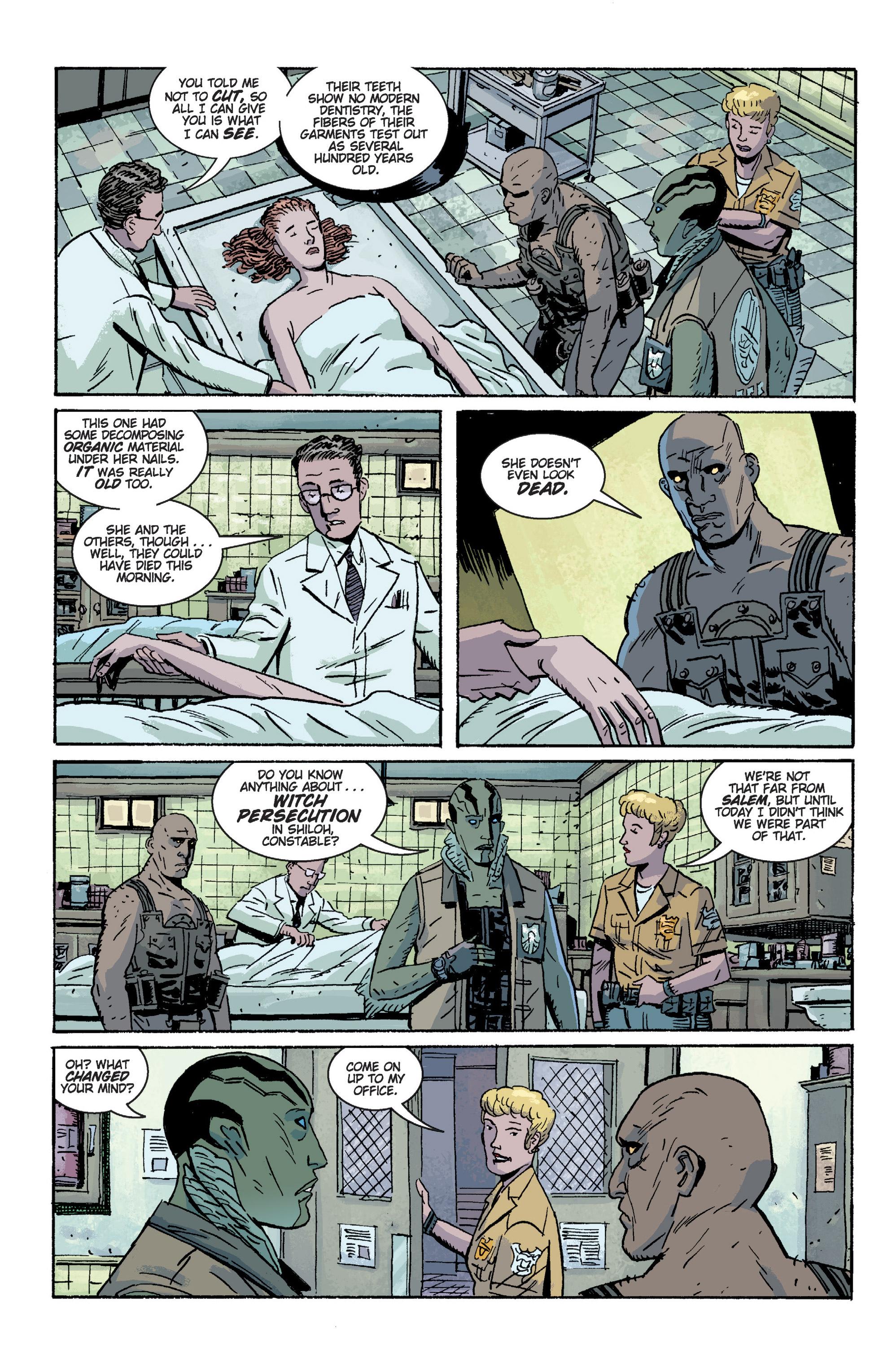 Read online B.P.R.D. (2003) comic -  Issue # TPB 2 - 40