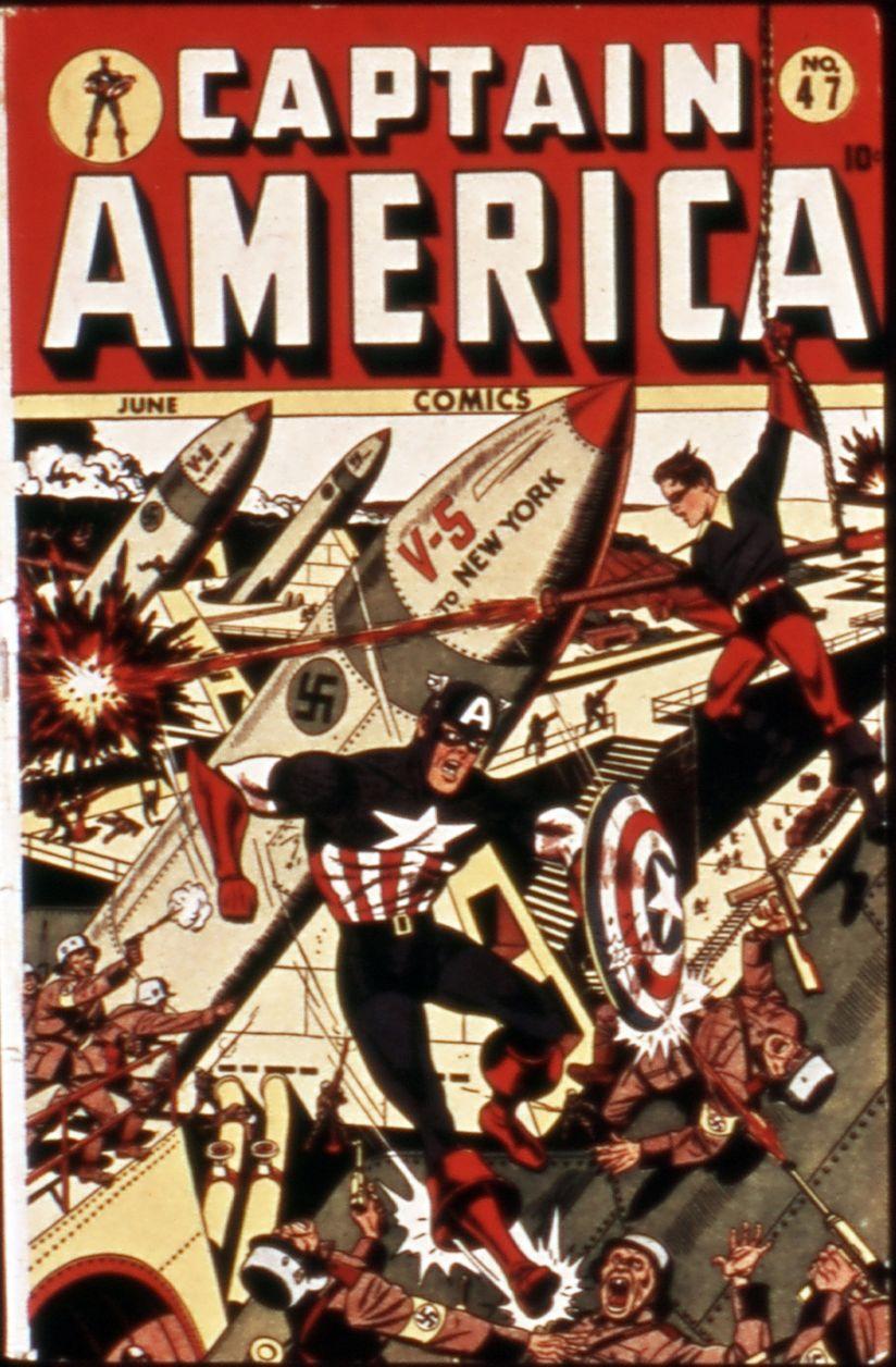 Captain America Comics 47 Page 1
