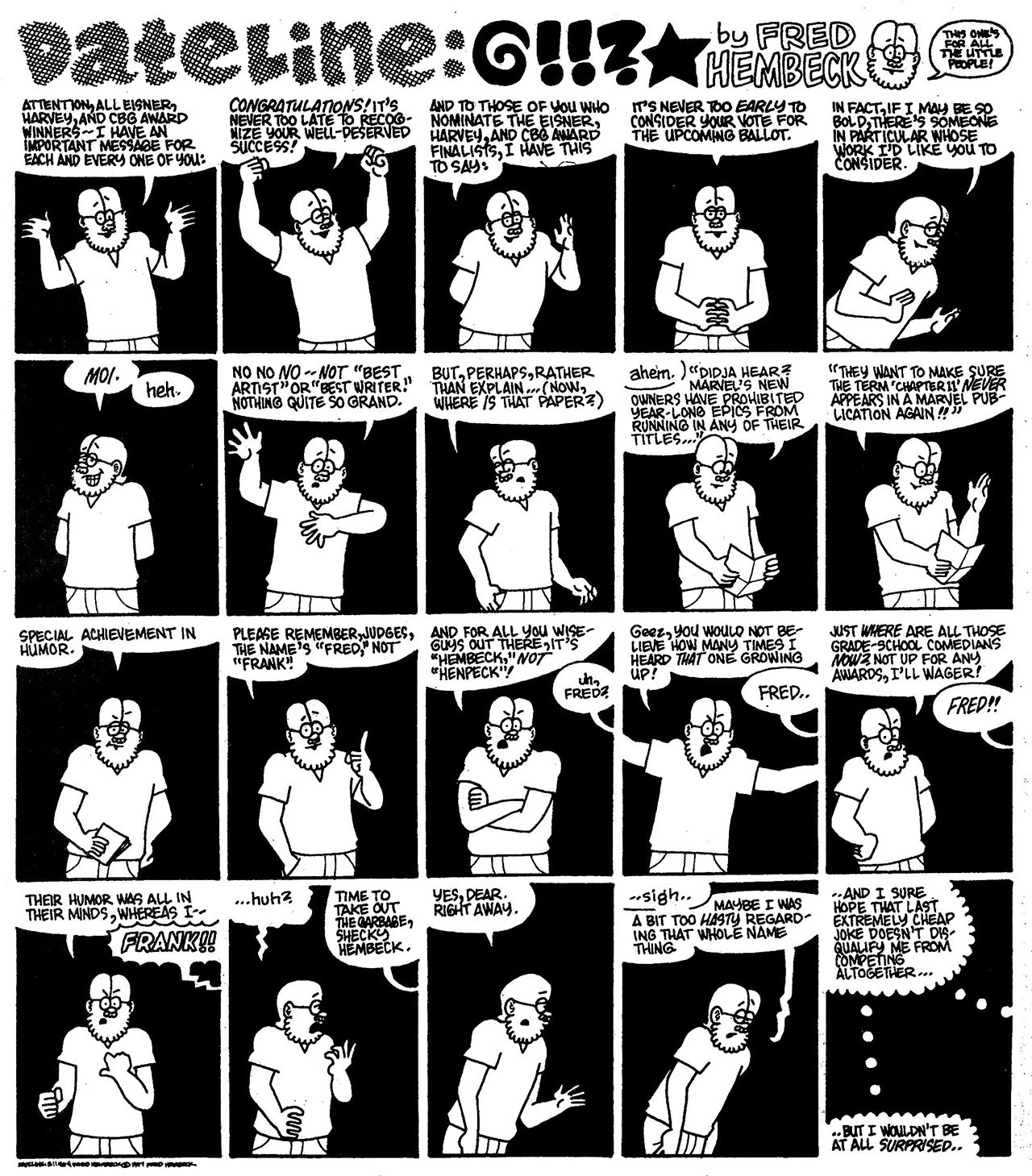 Read online The Nearly Complete Essential Hembeck Archives Omnibus comic -  Issue # TPB (Part 7) - 39