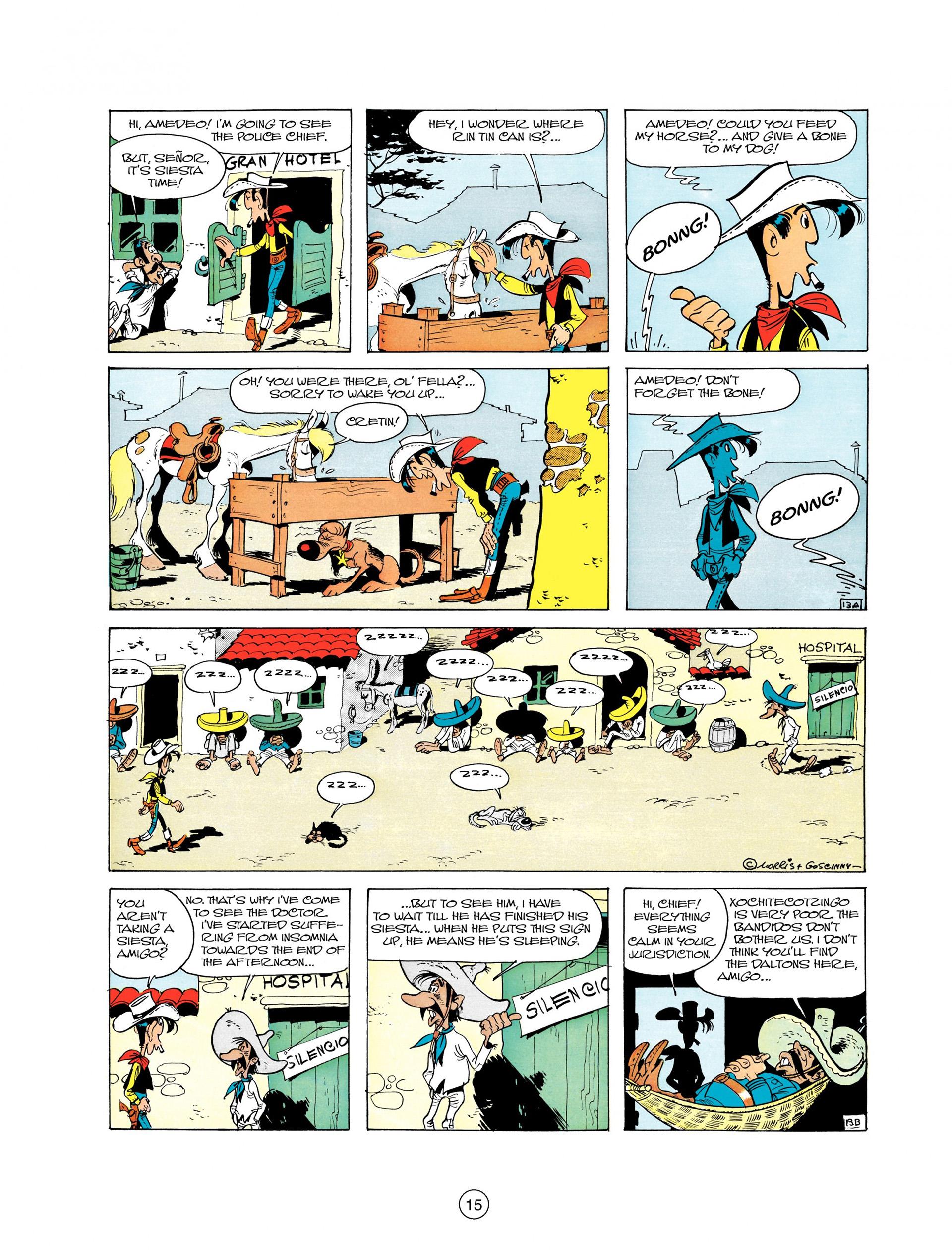 Read online A Lucky Luke Adventure comic -  Issue #10 - 15