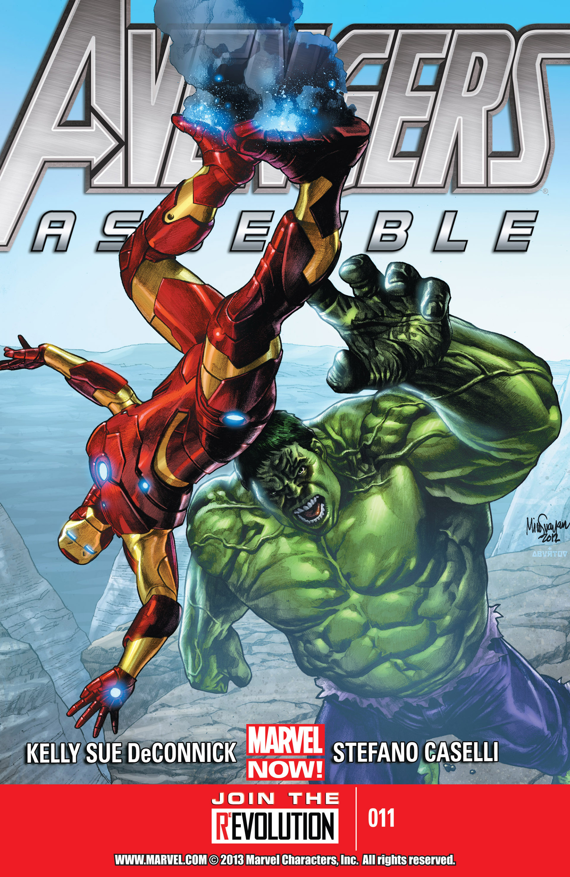 Avengers Assemble (2012) issue 11 - Page 1