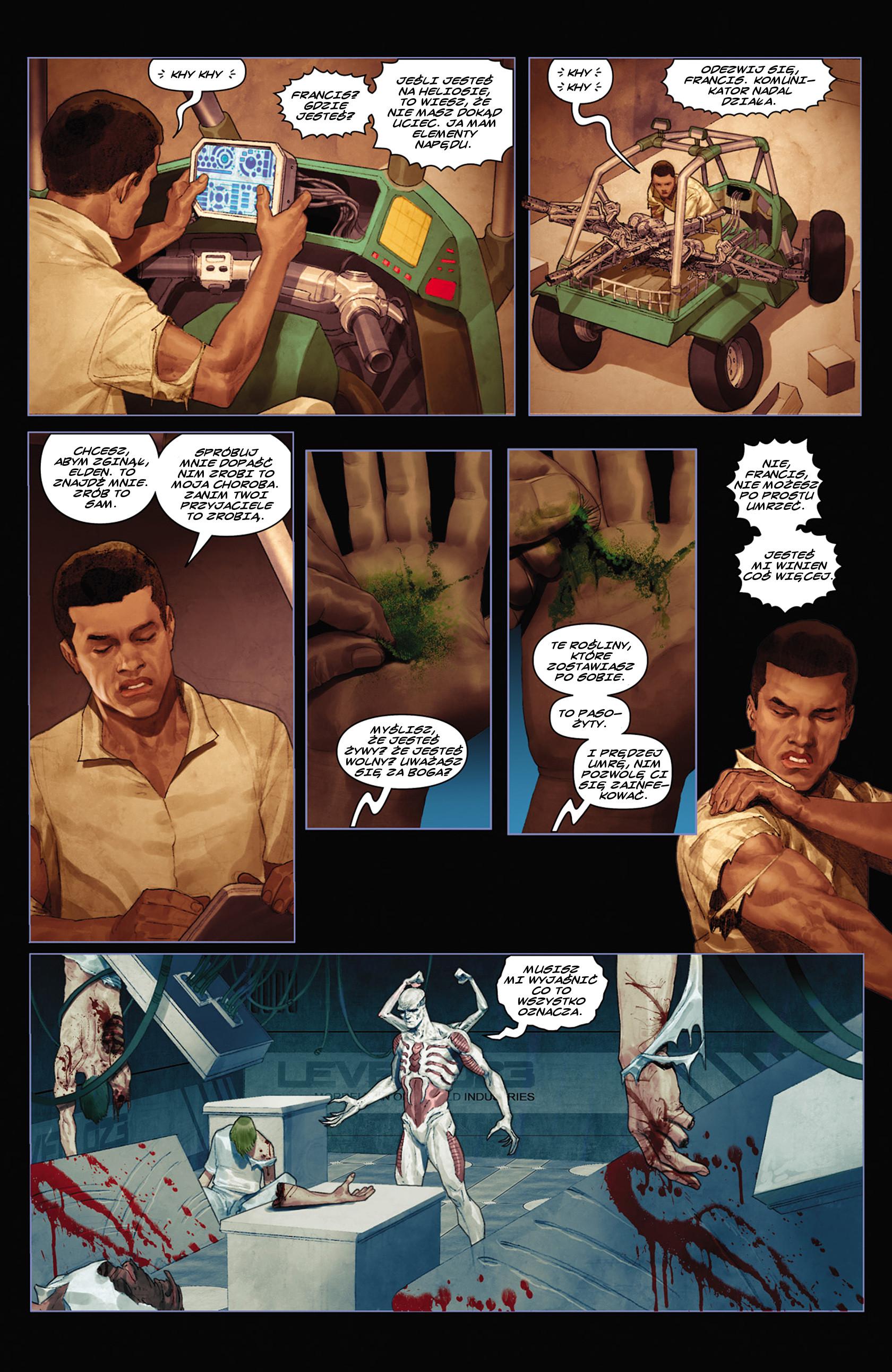 Read online Alien vs. Predator: Fire and Stone comic -  Issue #2 - 20