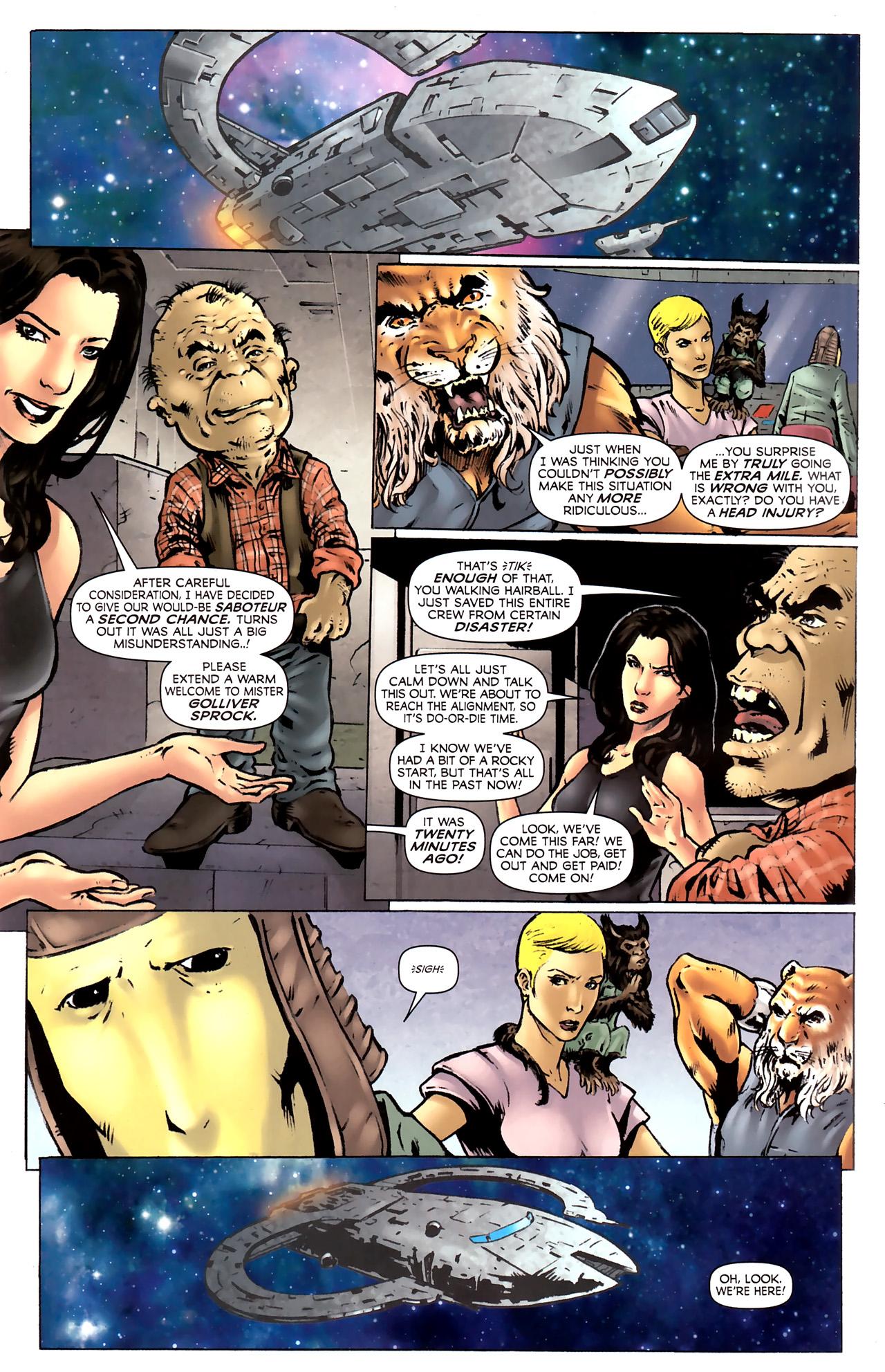 Read online Stargate Vala Mal Doran comic -  Issue #2 - 7