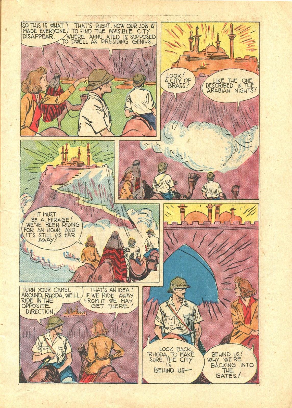 Read online Super-Magician Comics comic -  Issue #21 - 11