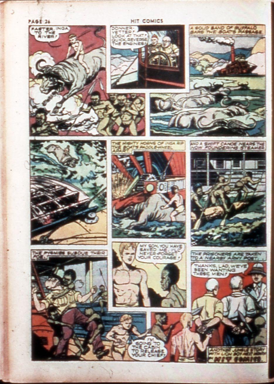 Read online Hit Comics comic -  Issue #14 - 28
