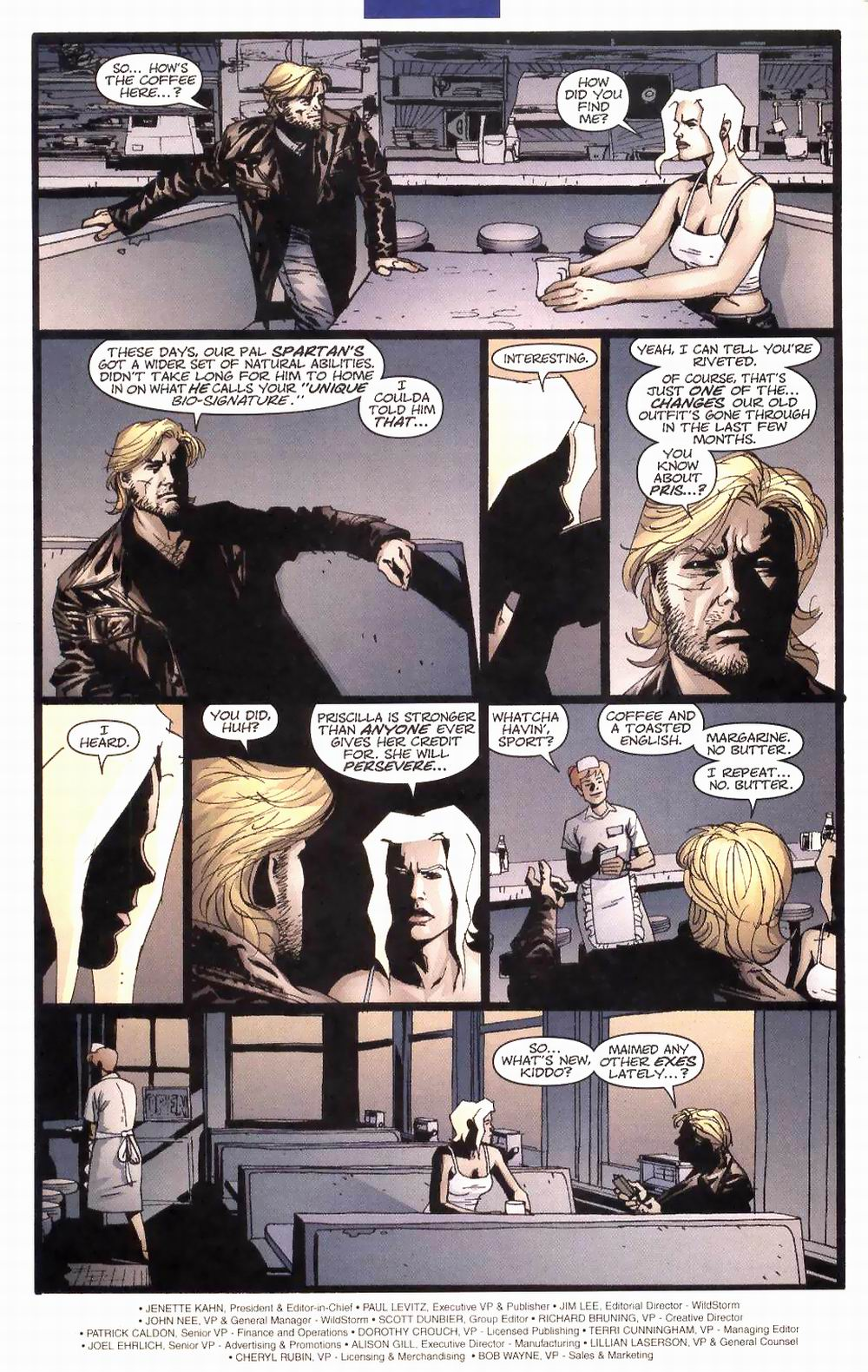 Wildcats (1999) Issue #27 #28 - English 3