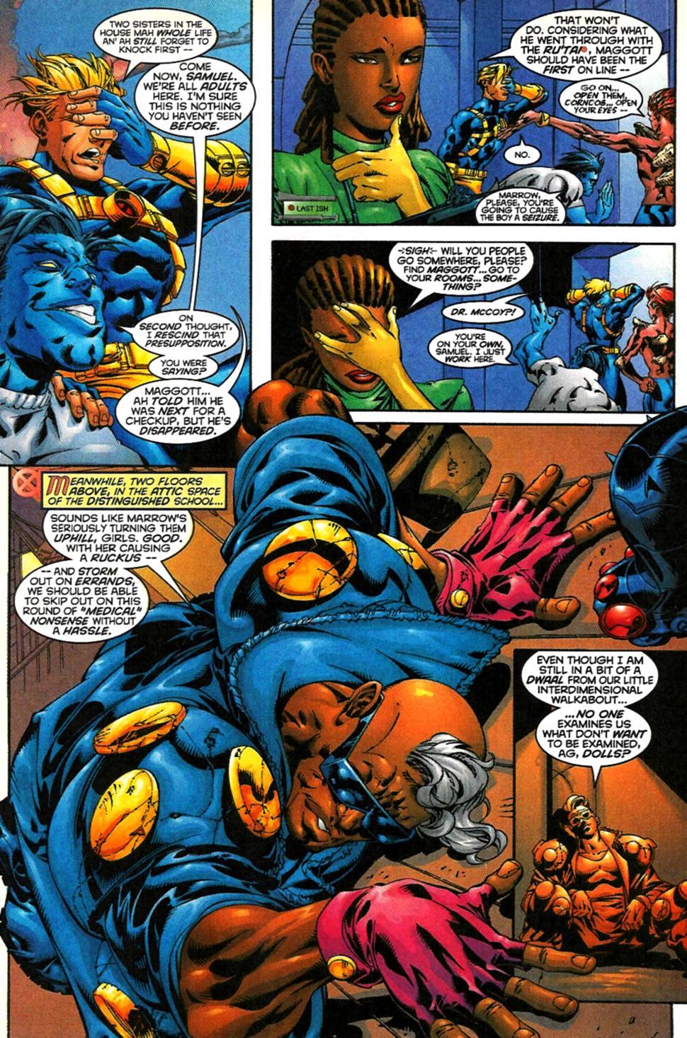 X-Men (1991) 76 Page 3