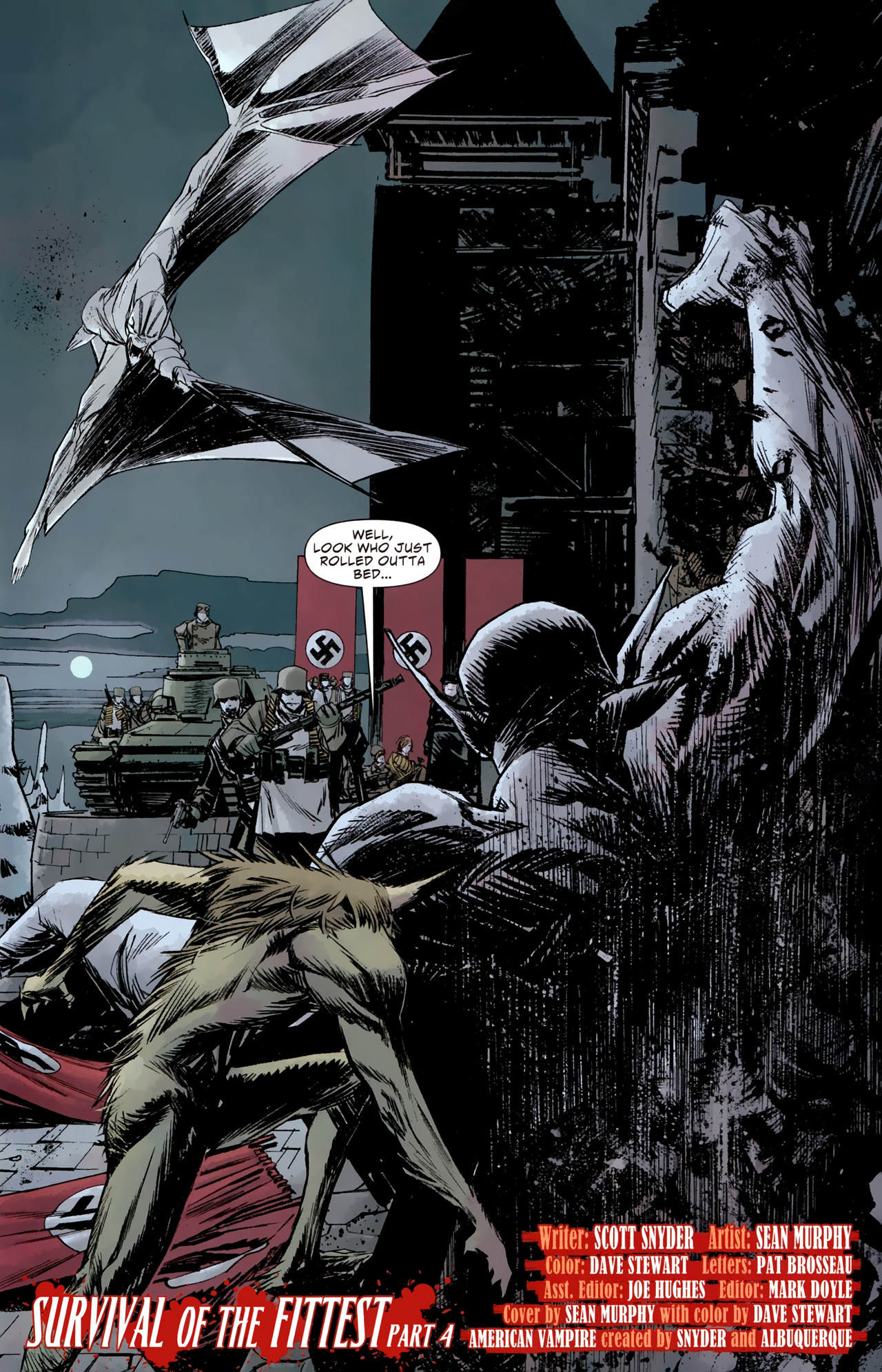 Read online American Vampire: Survival of the Fittest comic -  Issue #4 - 21