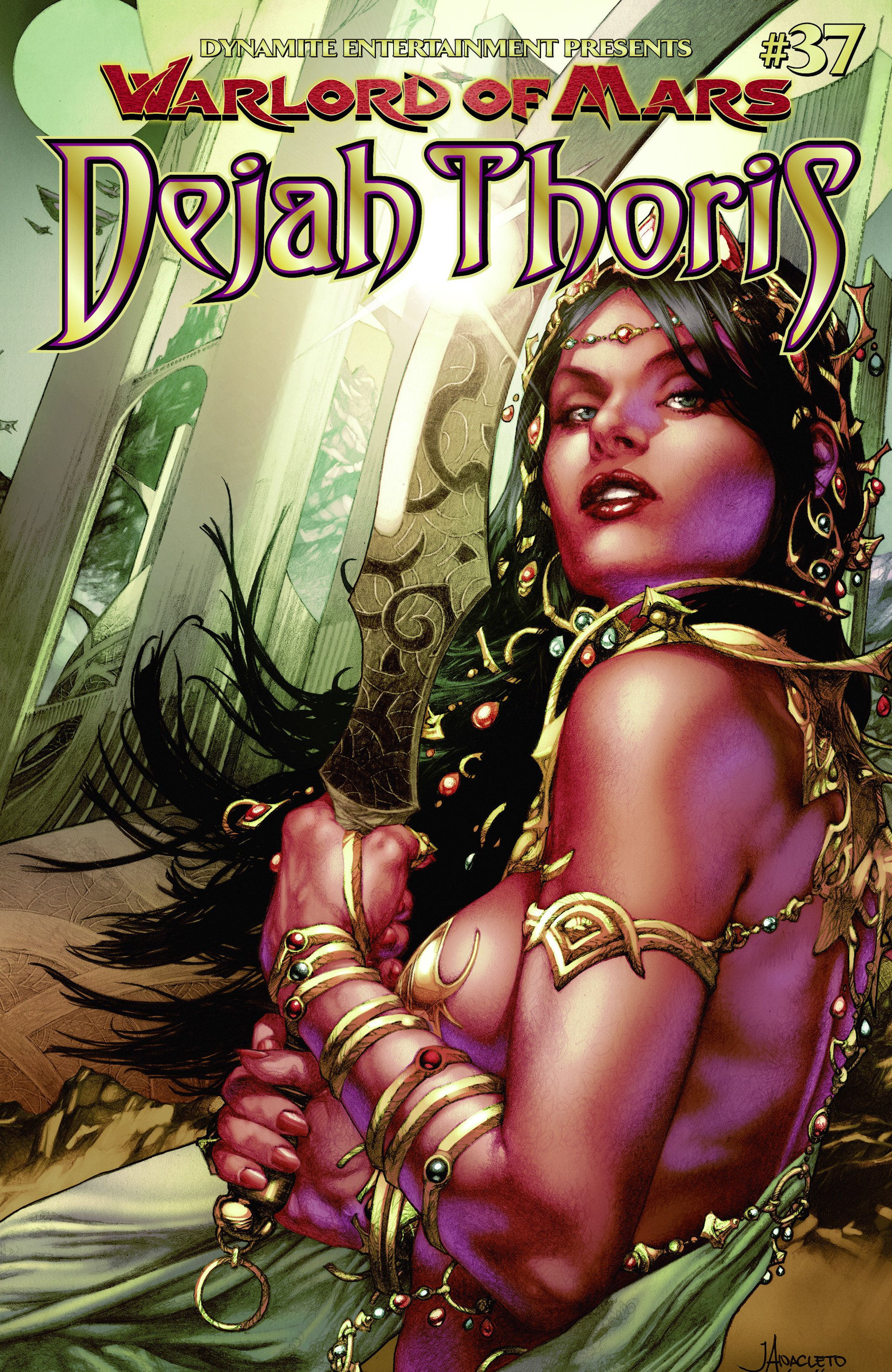 Warlord Of Mars: Dejah Thoris 37 Page 1