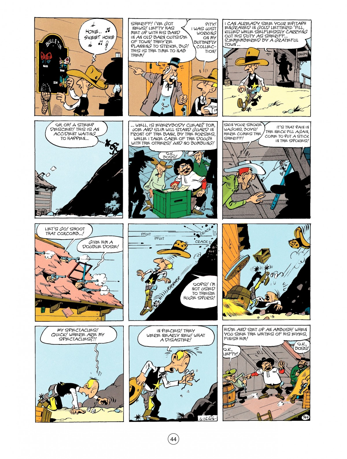 Read online A Lucky Luke Adventure comic -  Issue #40 - 44