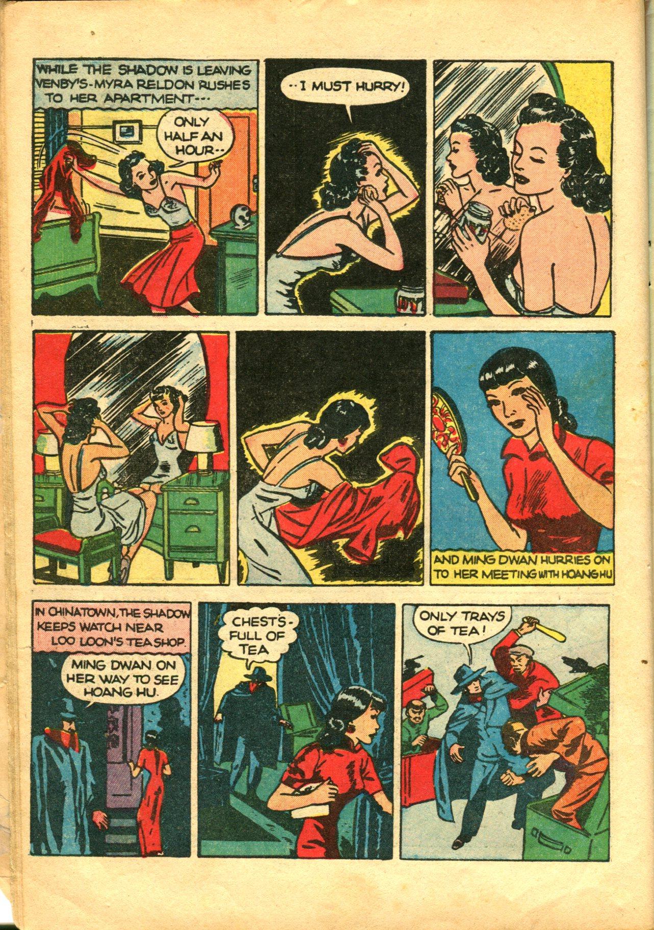 Read online Shadow Comics comic -  Issue #10 - 18