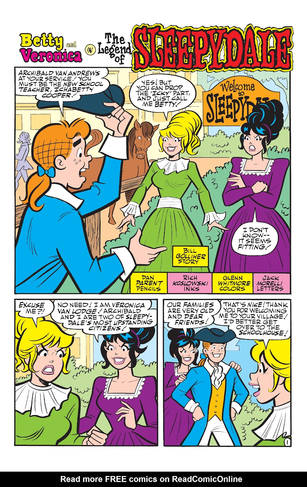Read online Betty & Veronica Friends Forever: Return To Storybook Land comic -  Issue # Full - 13