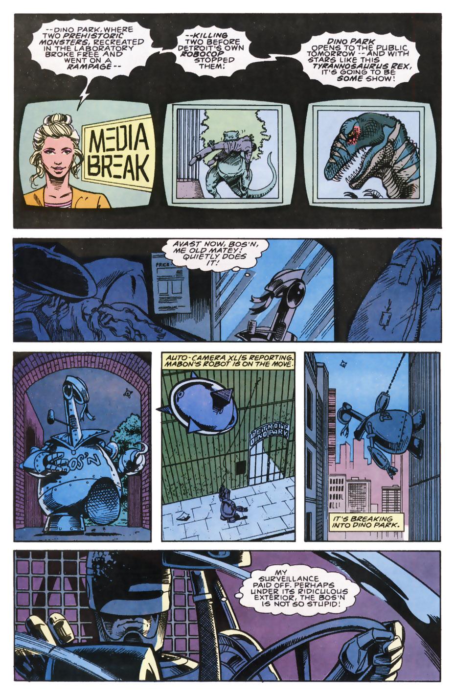 Read online Robocop (1990) comic -  Issue #7 - 10