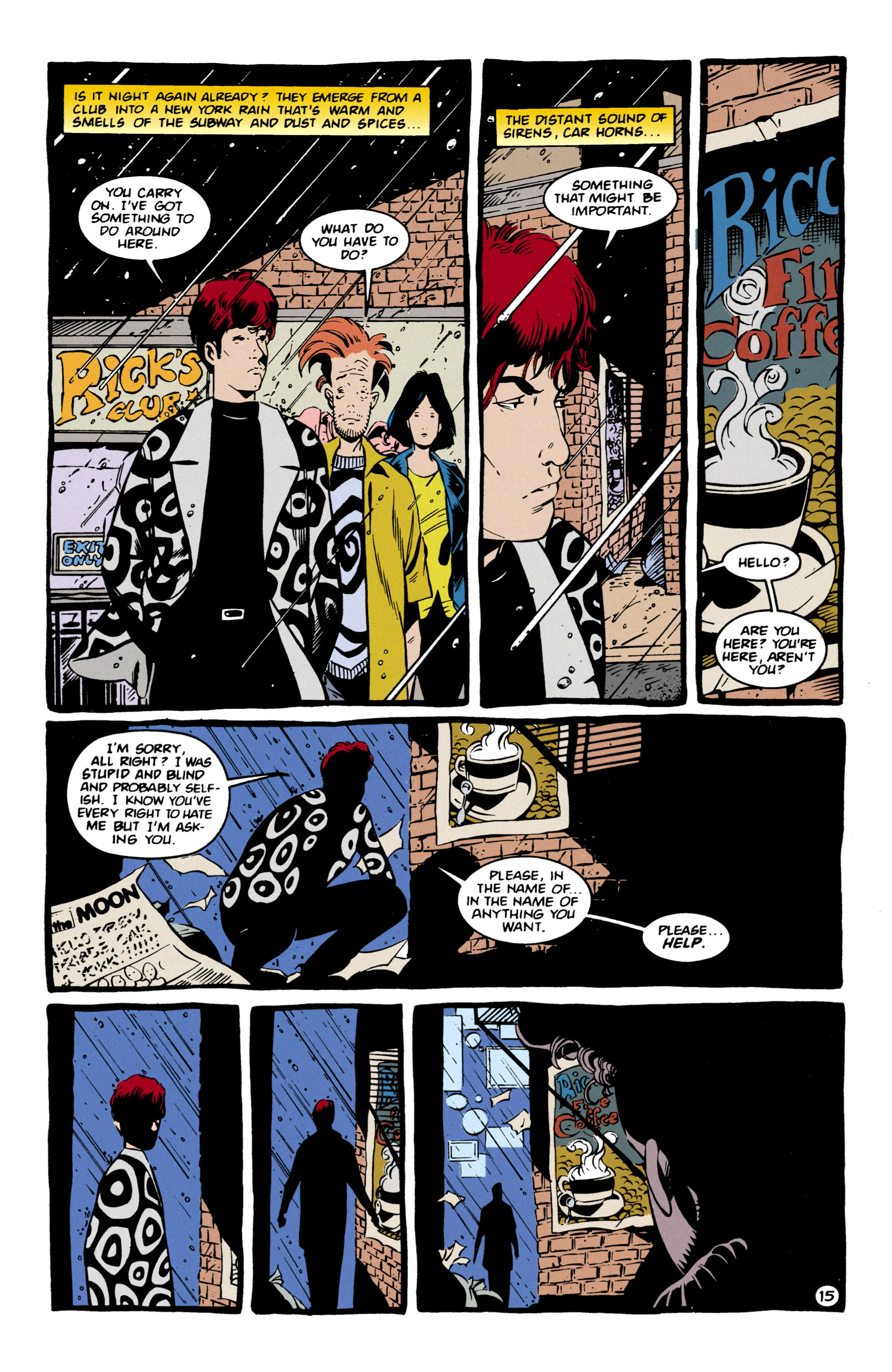 Read online Shade, the Changing Man comic -  Issue #57 - 16