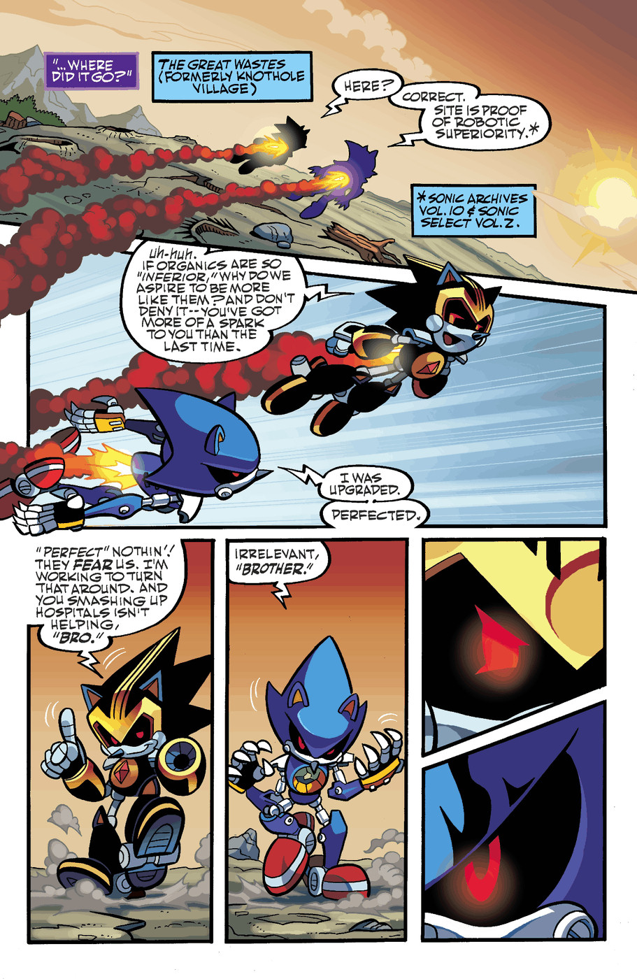 Read online Sonic Universe comic -  Issue #50 - 13