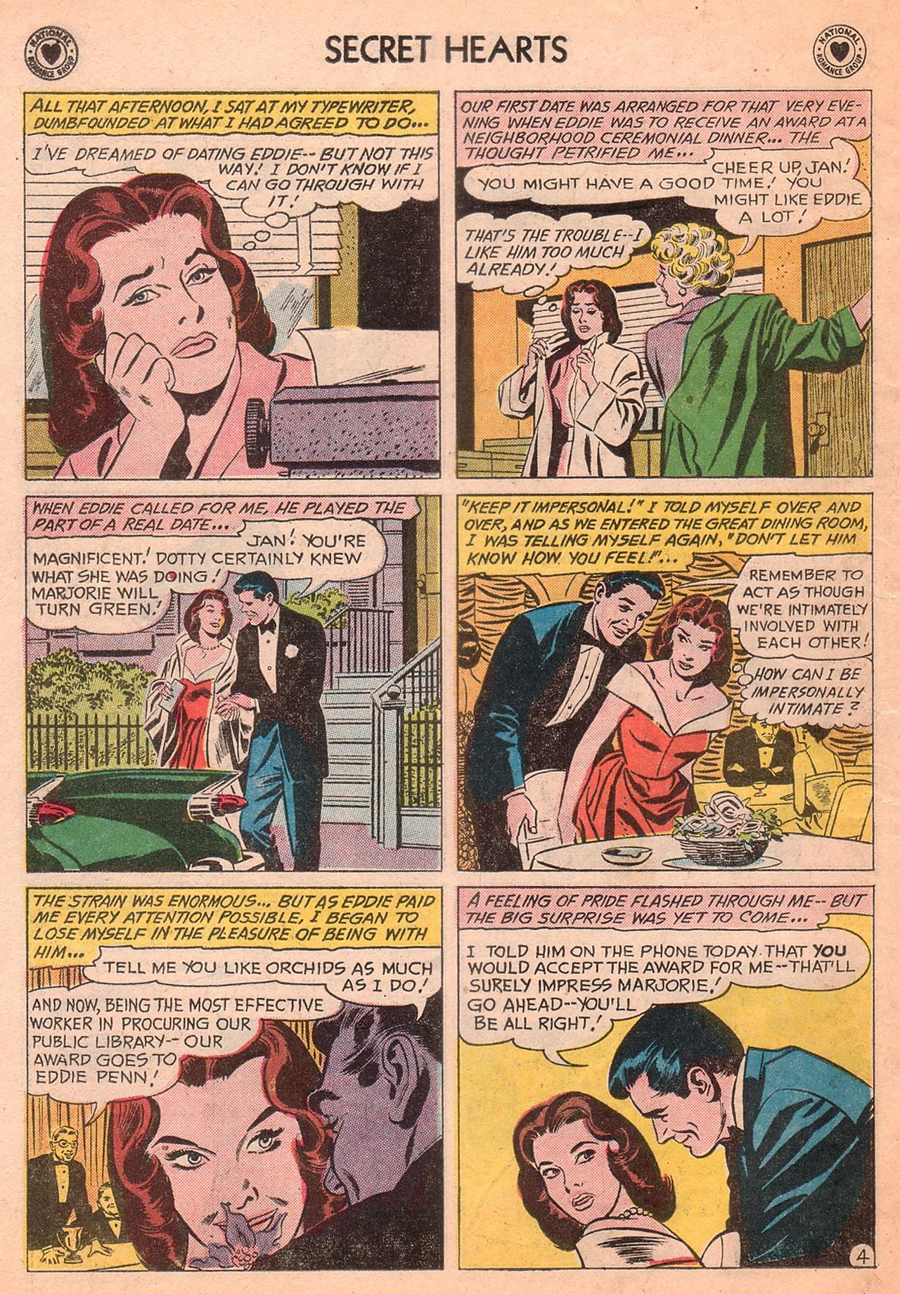 Read online Secret Hearts comic -  Issue #77 - 6